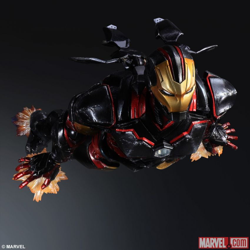 If Square Enix designed Iron Man, he'd be a ninja and look like this