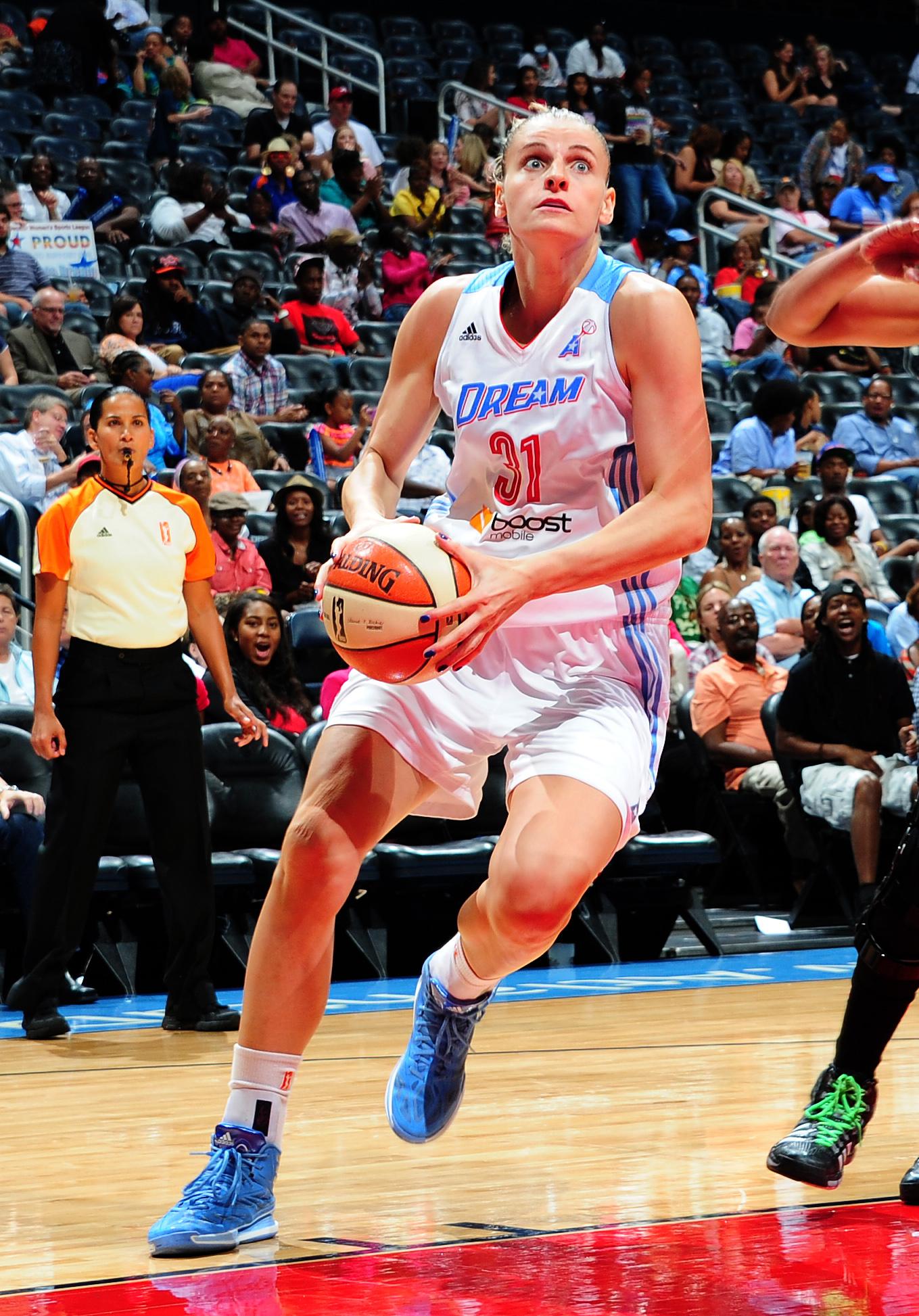 Nadia Colhado played 16 games with Atlanta last season.