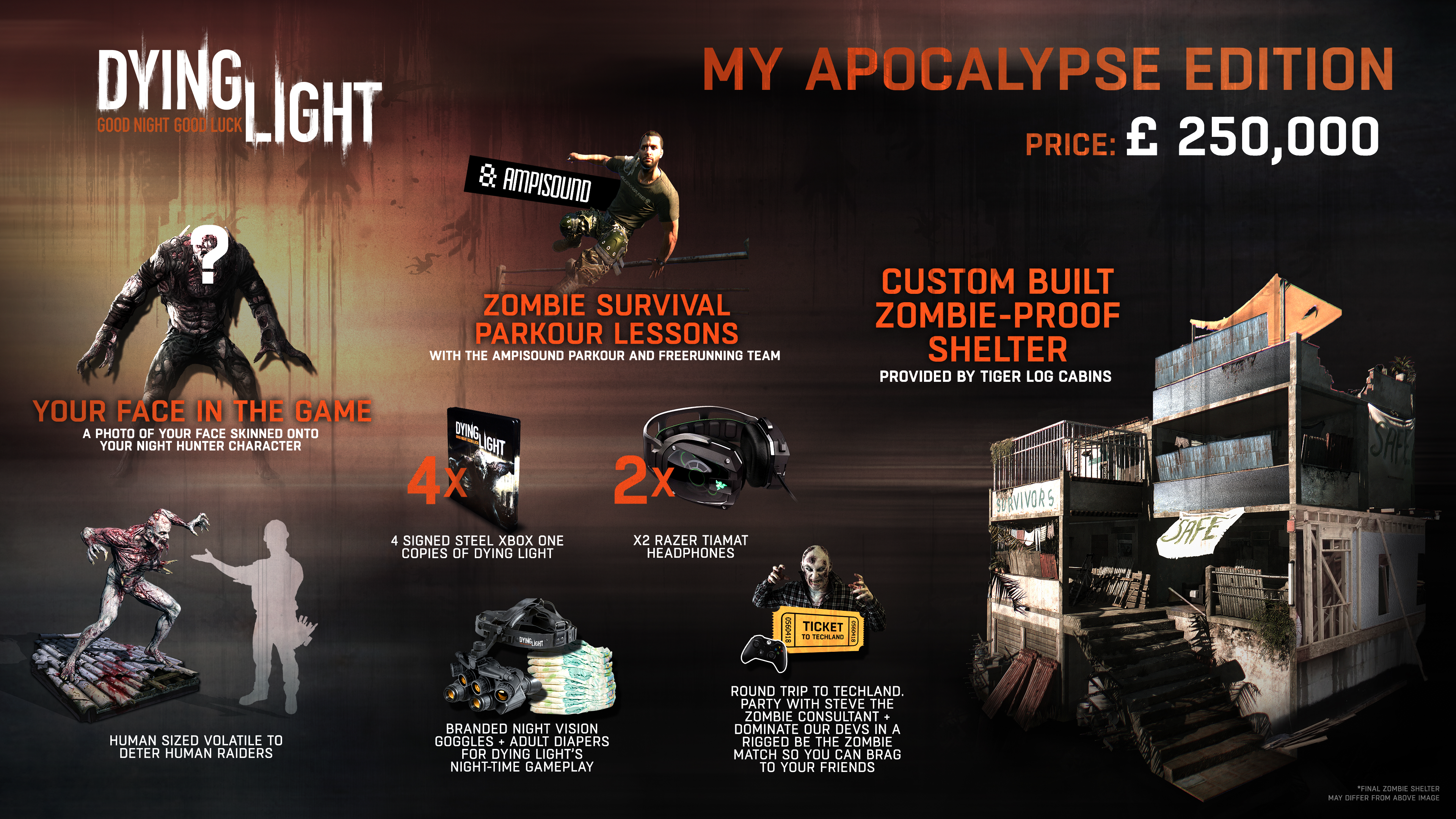 Dying Light special edition costs $387,000