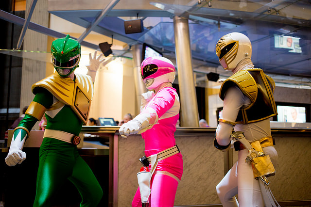 Report: Saban is 'harassing' the makers of Power/Rangers with take-down complaints
