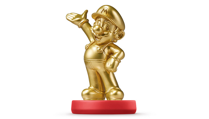 Mario's gold amiibo is real, and it's headed to Walmart March 20