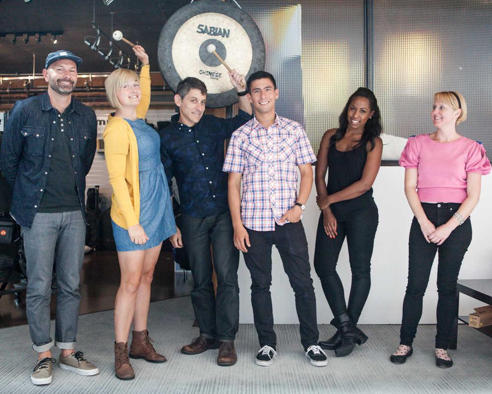 """The Timbuk2 crew. Photos by <a href=""""http://www.patriciachangphotography.com"""">Patricia Chang</a>."""