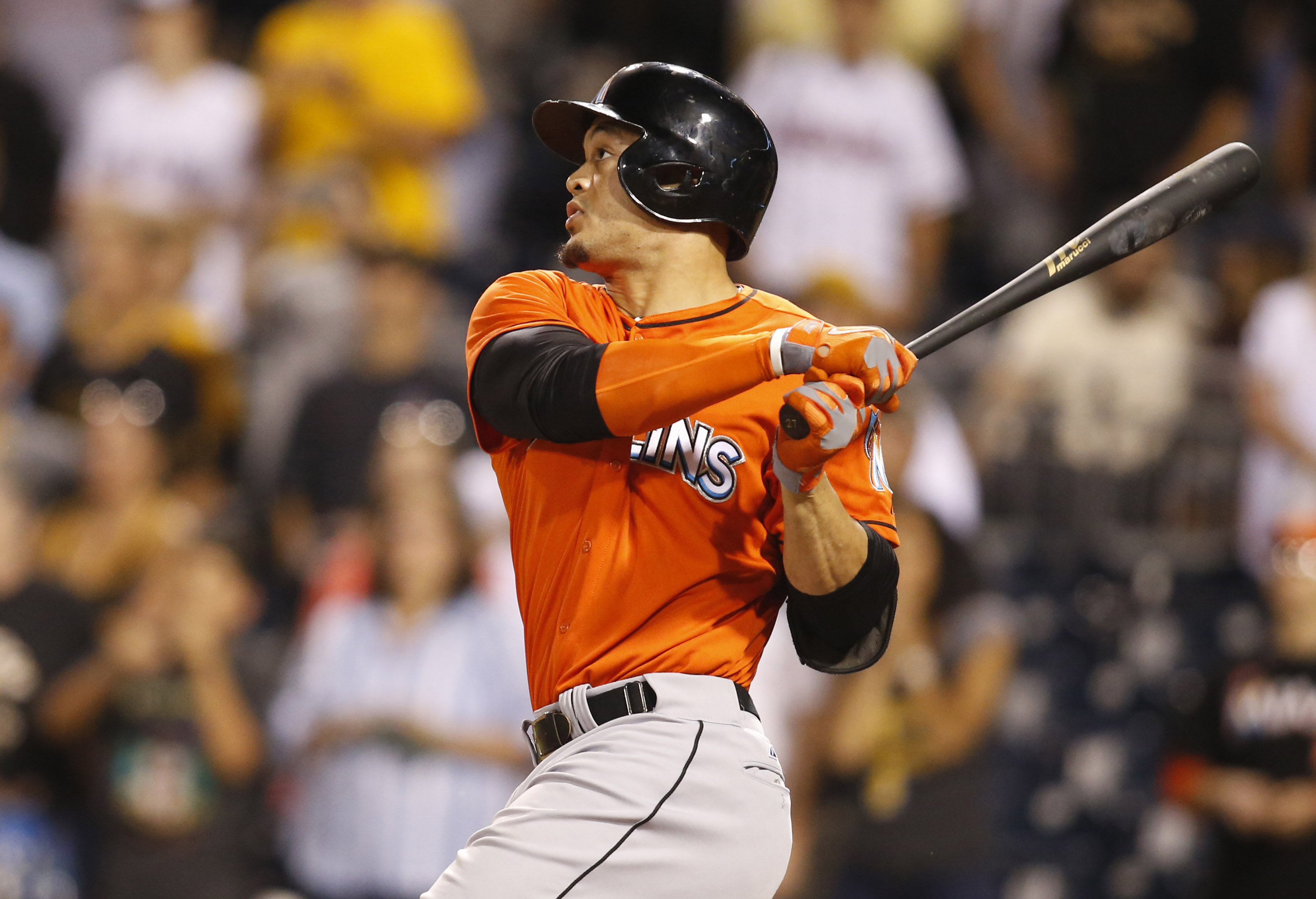 Giancarlo Stanton has unquestionable strength