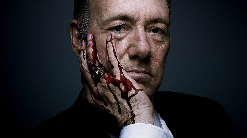 House of Cards and Netflix encourage our worst pop culture tendency: The gorge