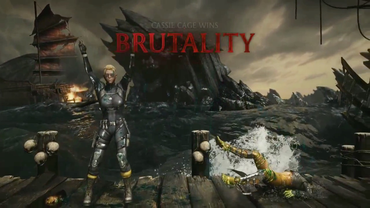 Here are nine Mortal Kombat X brutalities all at once, don't barf