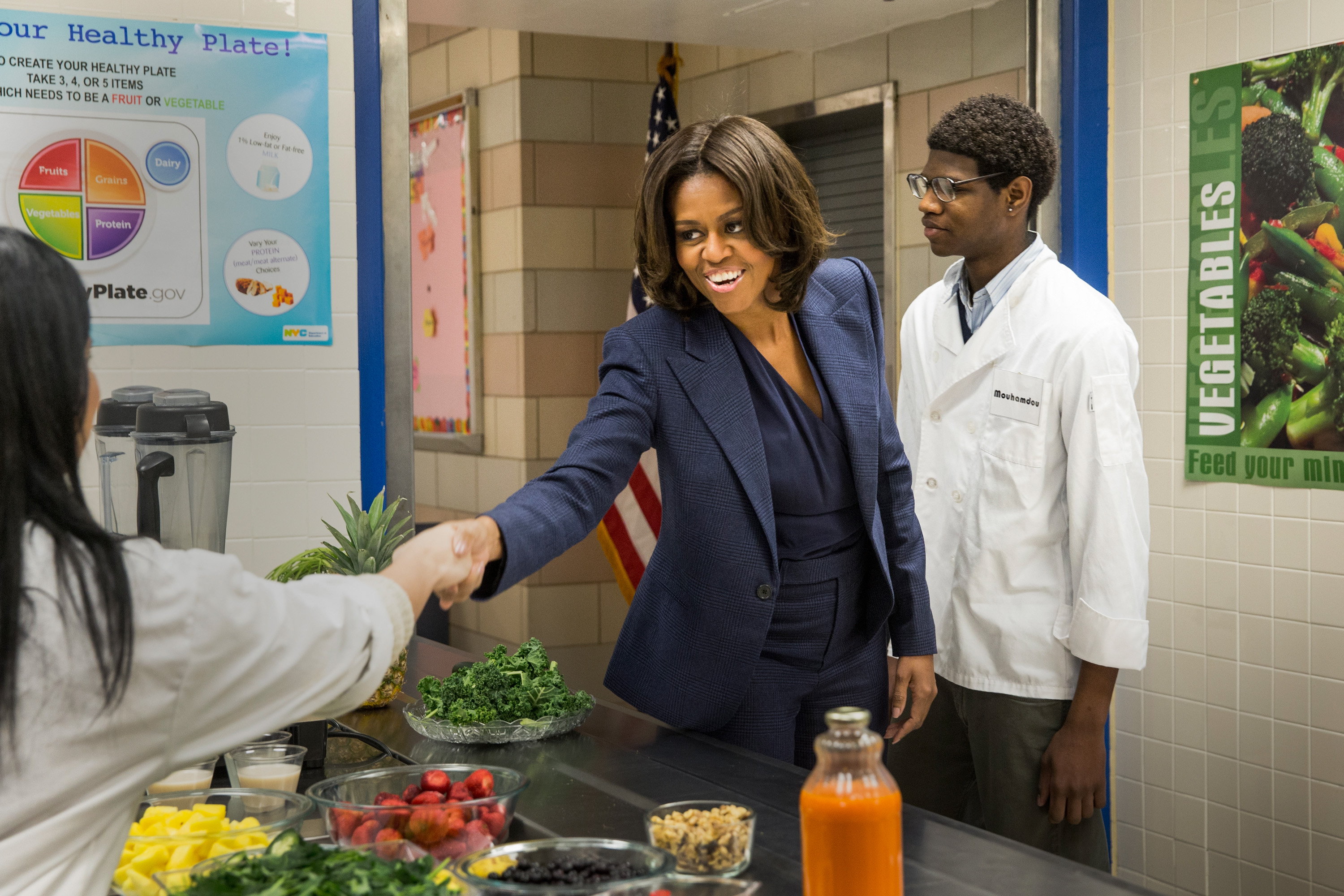 Michelle Obama Takes Credit for America's Healthier Food Culture