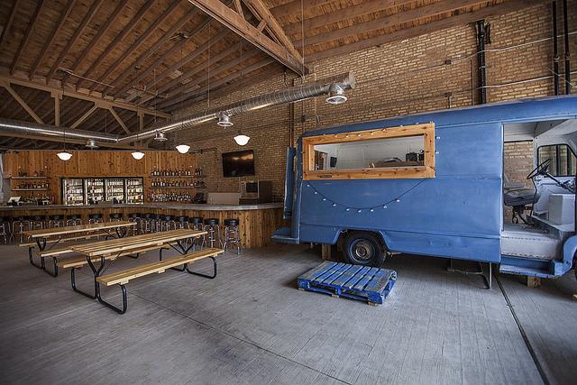 Emporium Logan Square's in-house food truck
