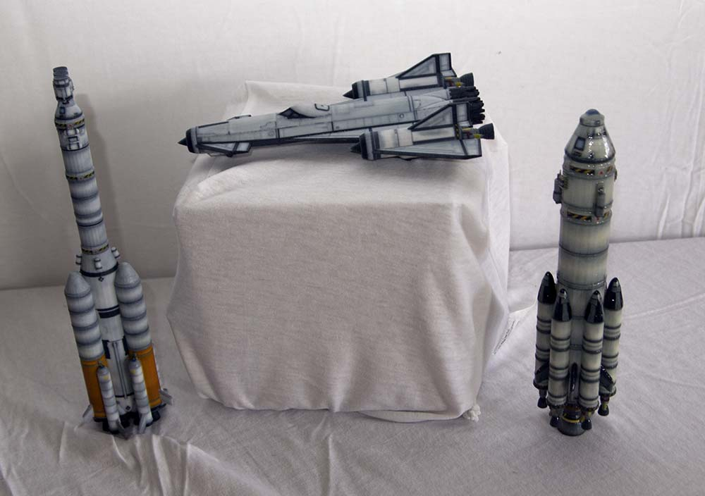 Kerbal Space Program now offering 3D printed models of your ships