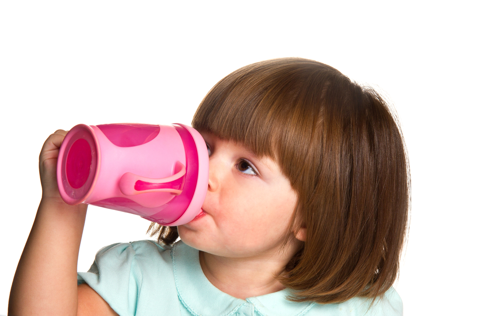 Don't put alcohol in your kid's sippy cup.