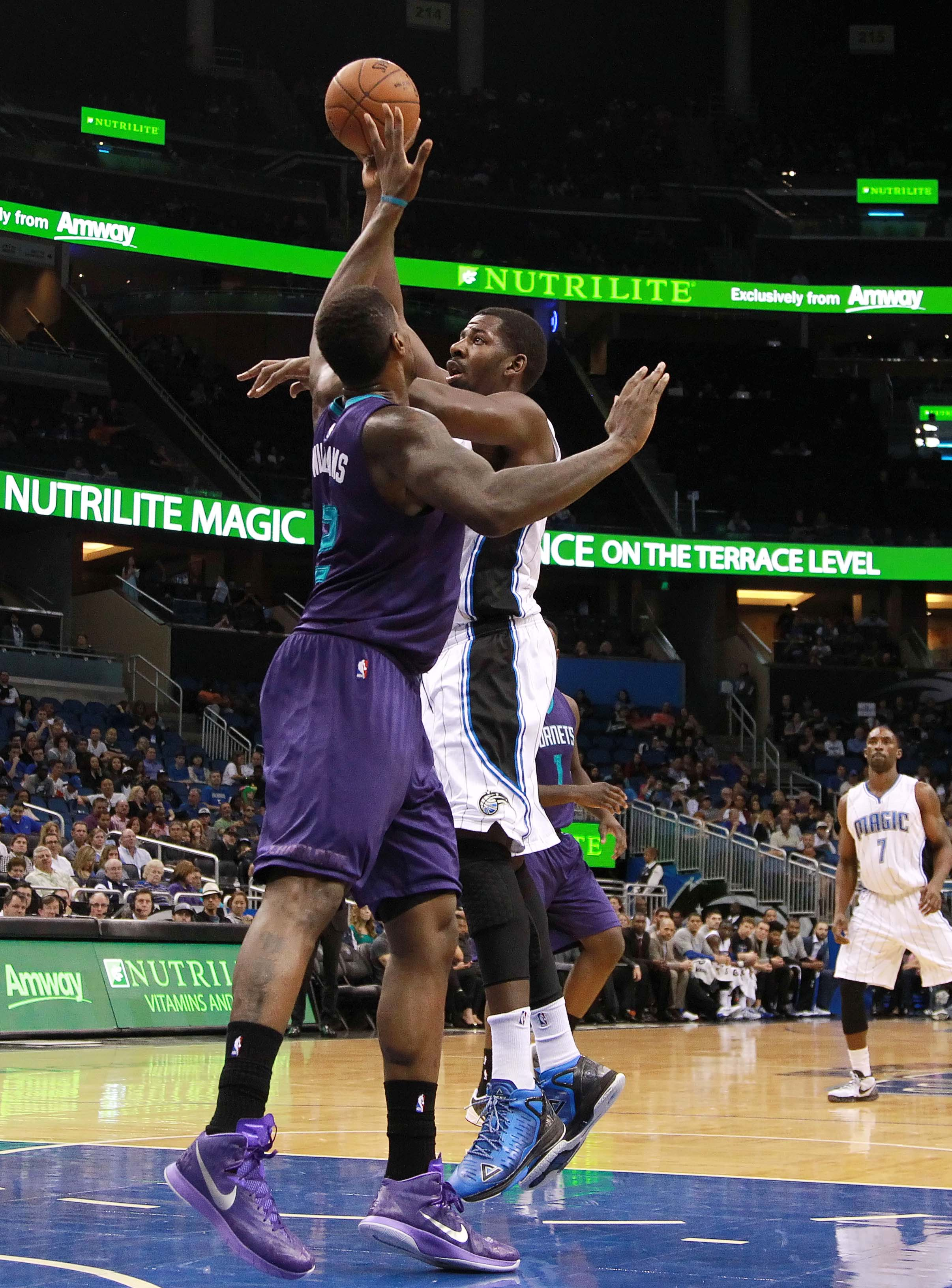 Marvin Williams and Andrew Nicholson