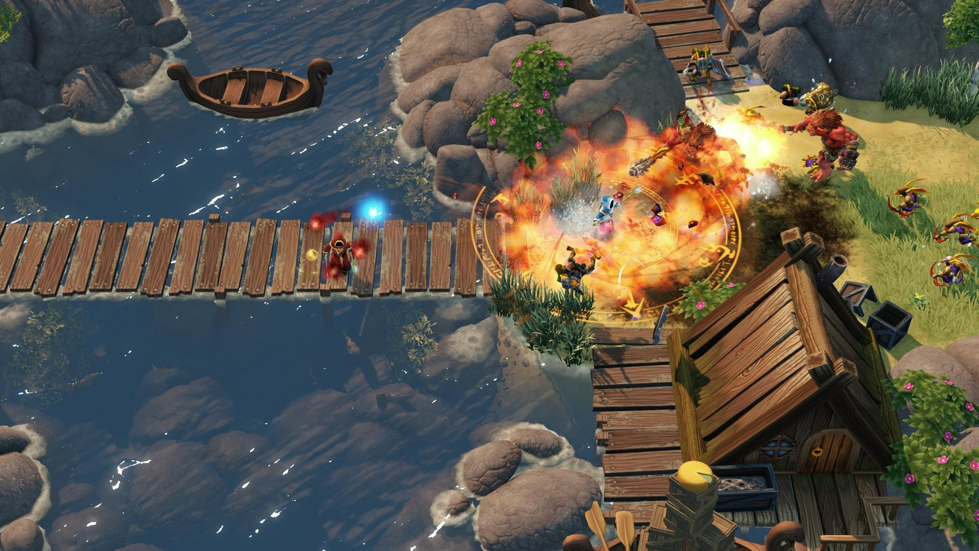 Paradox's first console game is an action RPG custom-made for couch co-op