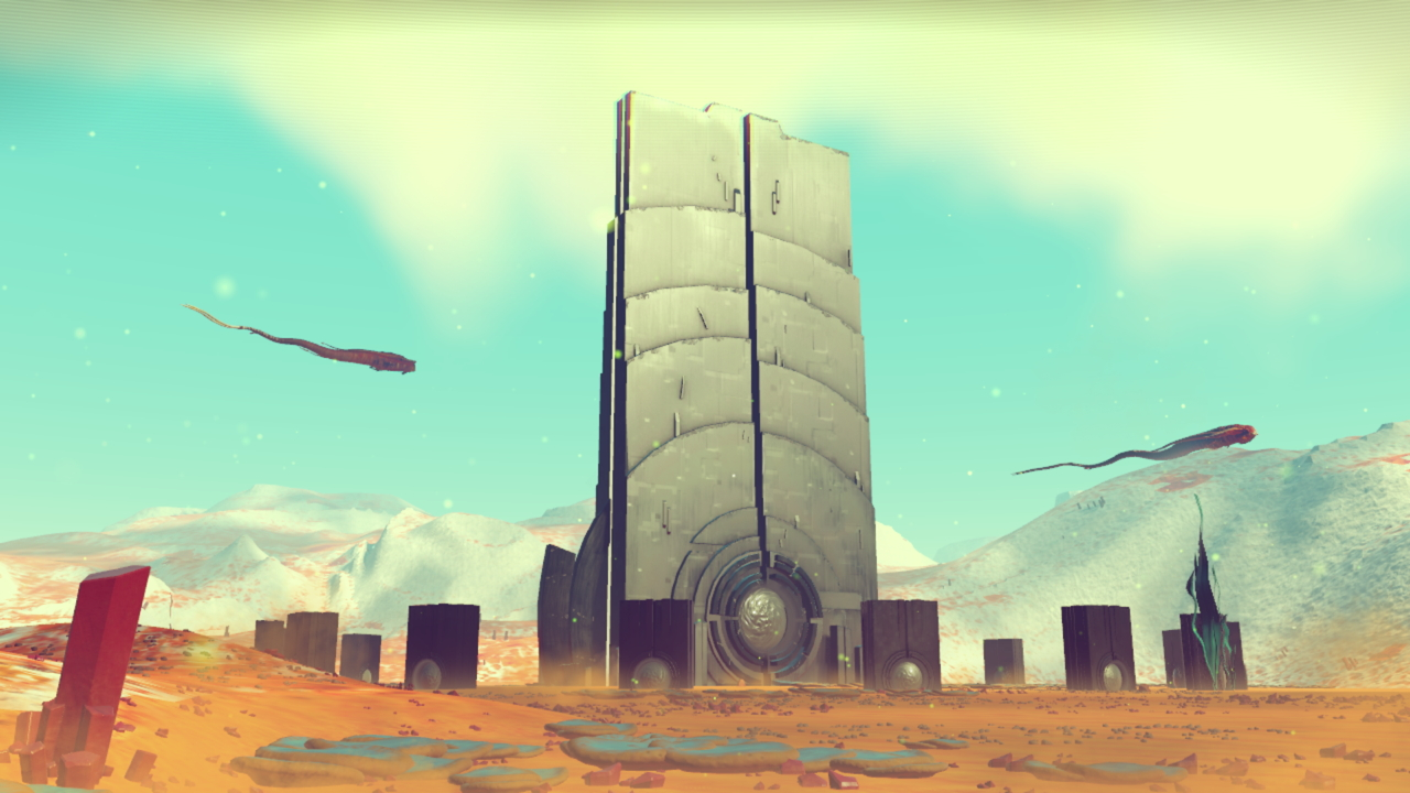 No Man's Sky is so big, the developers built space probes to explore it for them