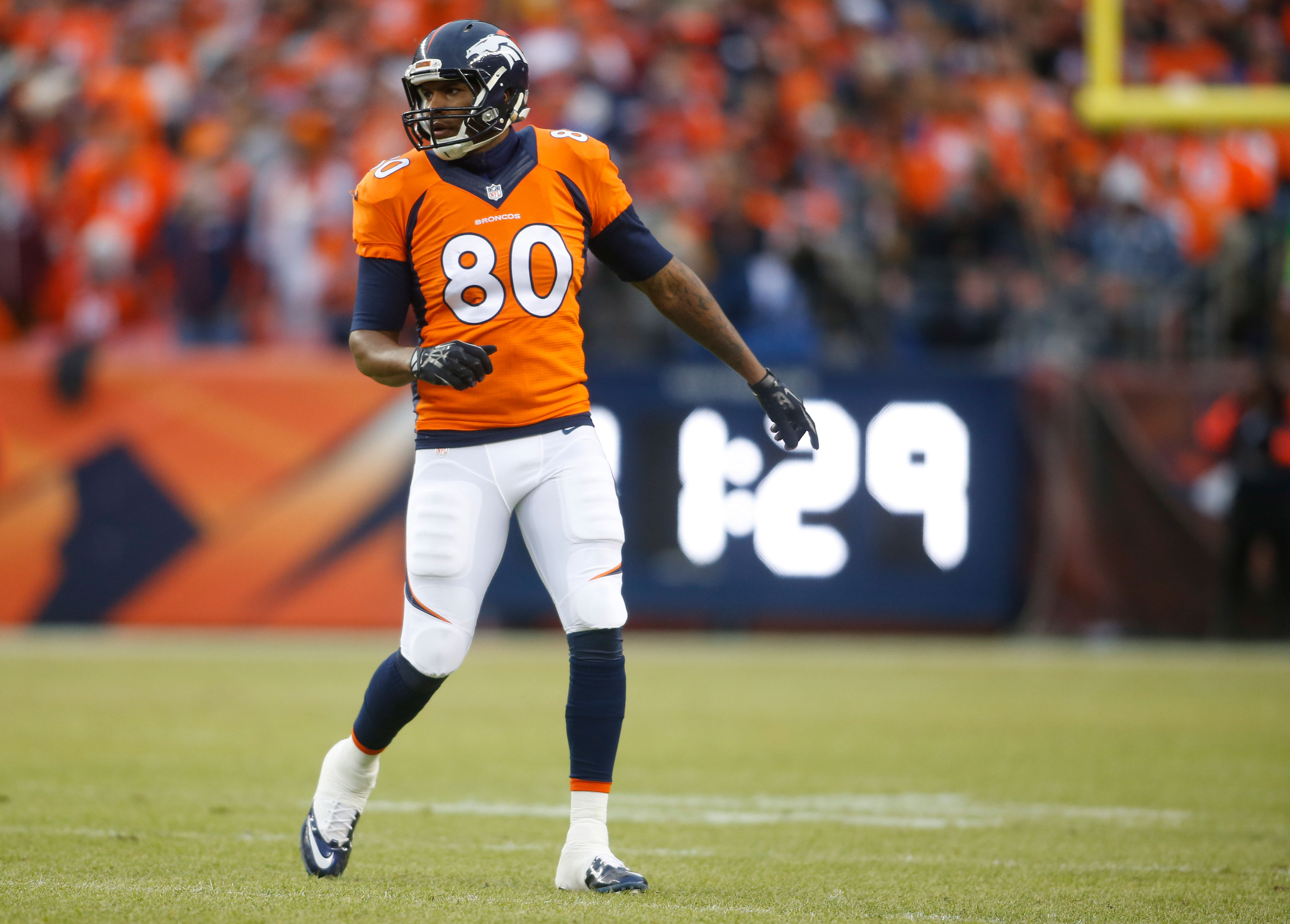 Julius Thomas 'fired up' to join the Jaguars