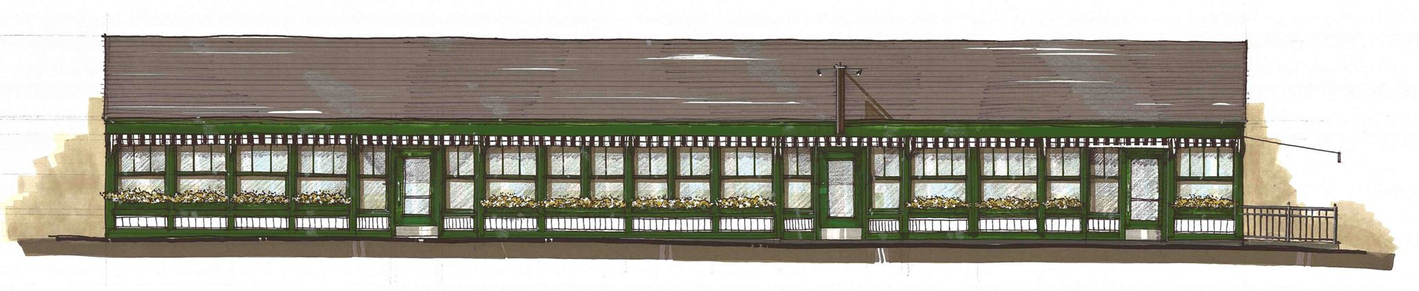 Partial rendering of Woods Hill Table