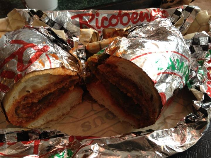 Ricobene's Breaded Steak Sandwich