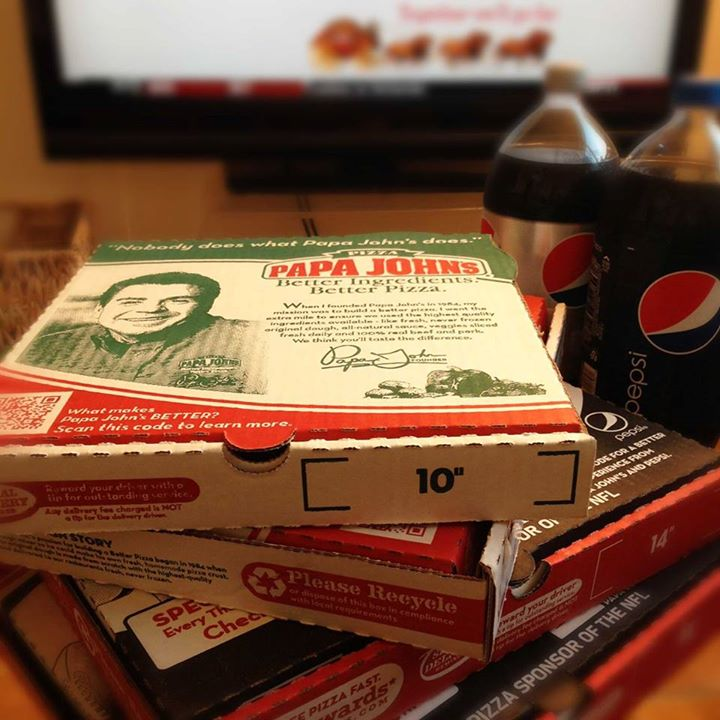 $10 Large 1-T Pizza & 2L Soda + 50% Cash Back. Use this promo code to get one large pizza and one 2-liter soda at Papa John's for only $10! Then, to get 50% of your purchase price back, click