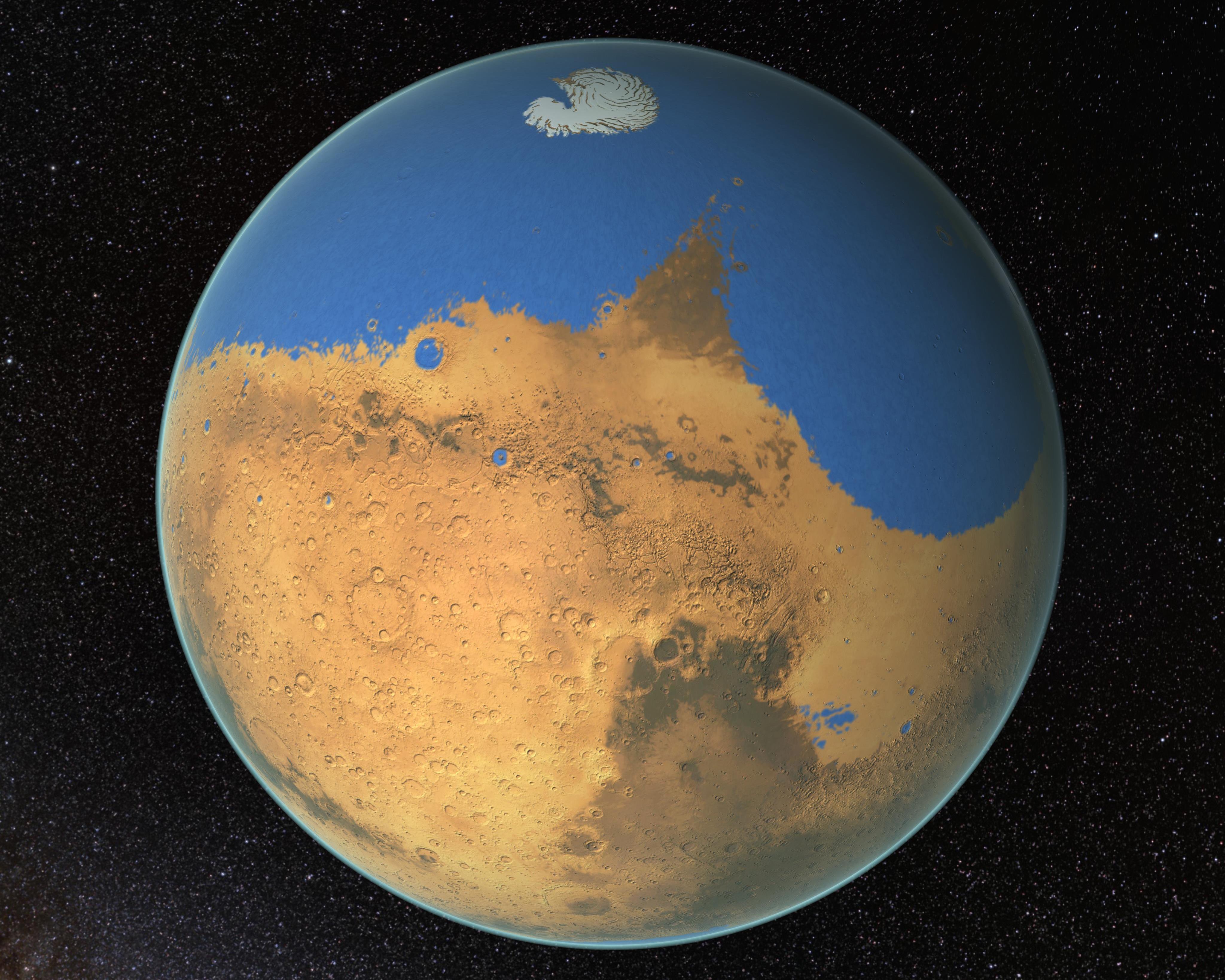 nasa study mars had a huge ocean billions of years ago vox