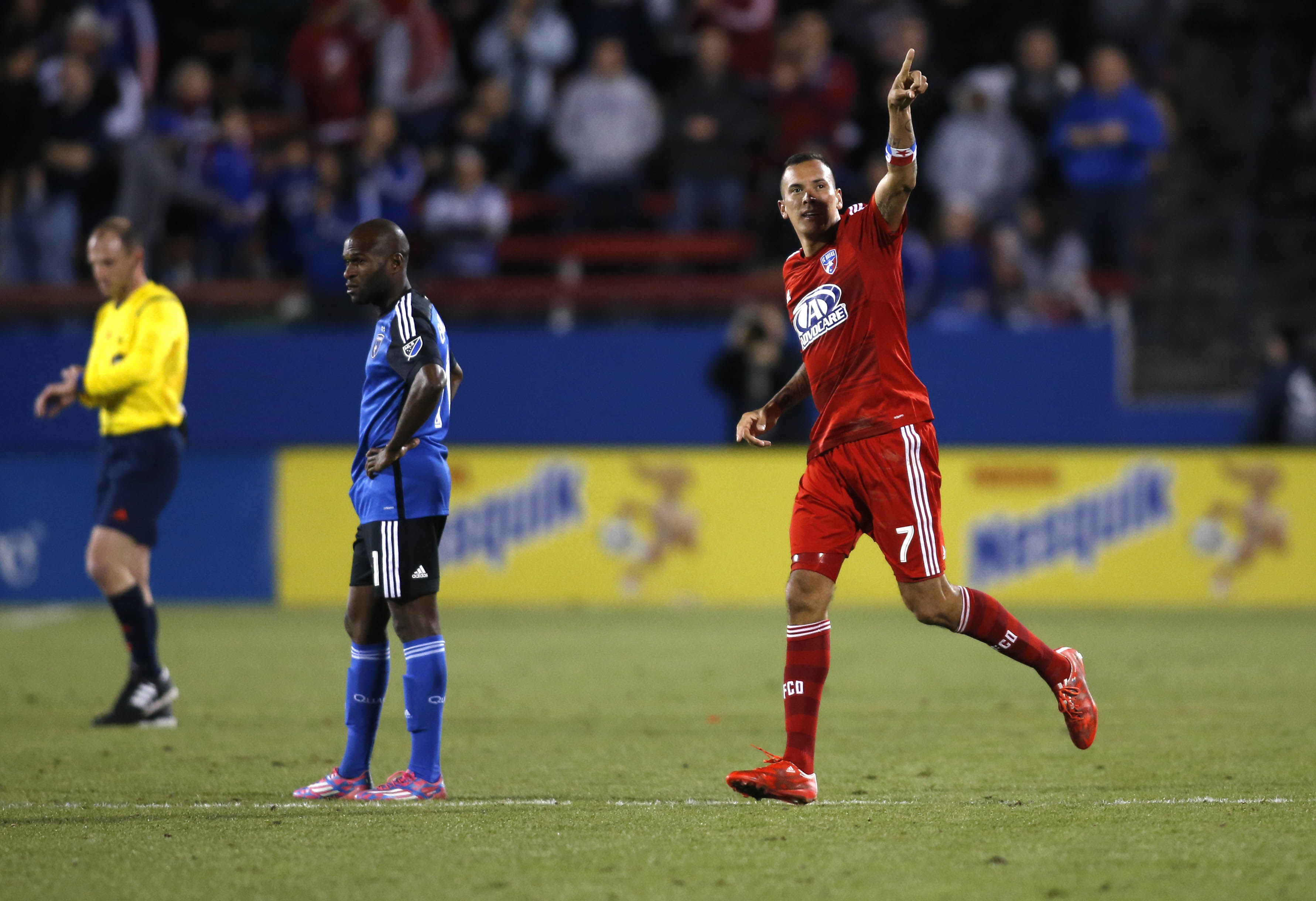 Perez celebrated while the Quakes rued another lost opportunity