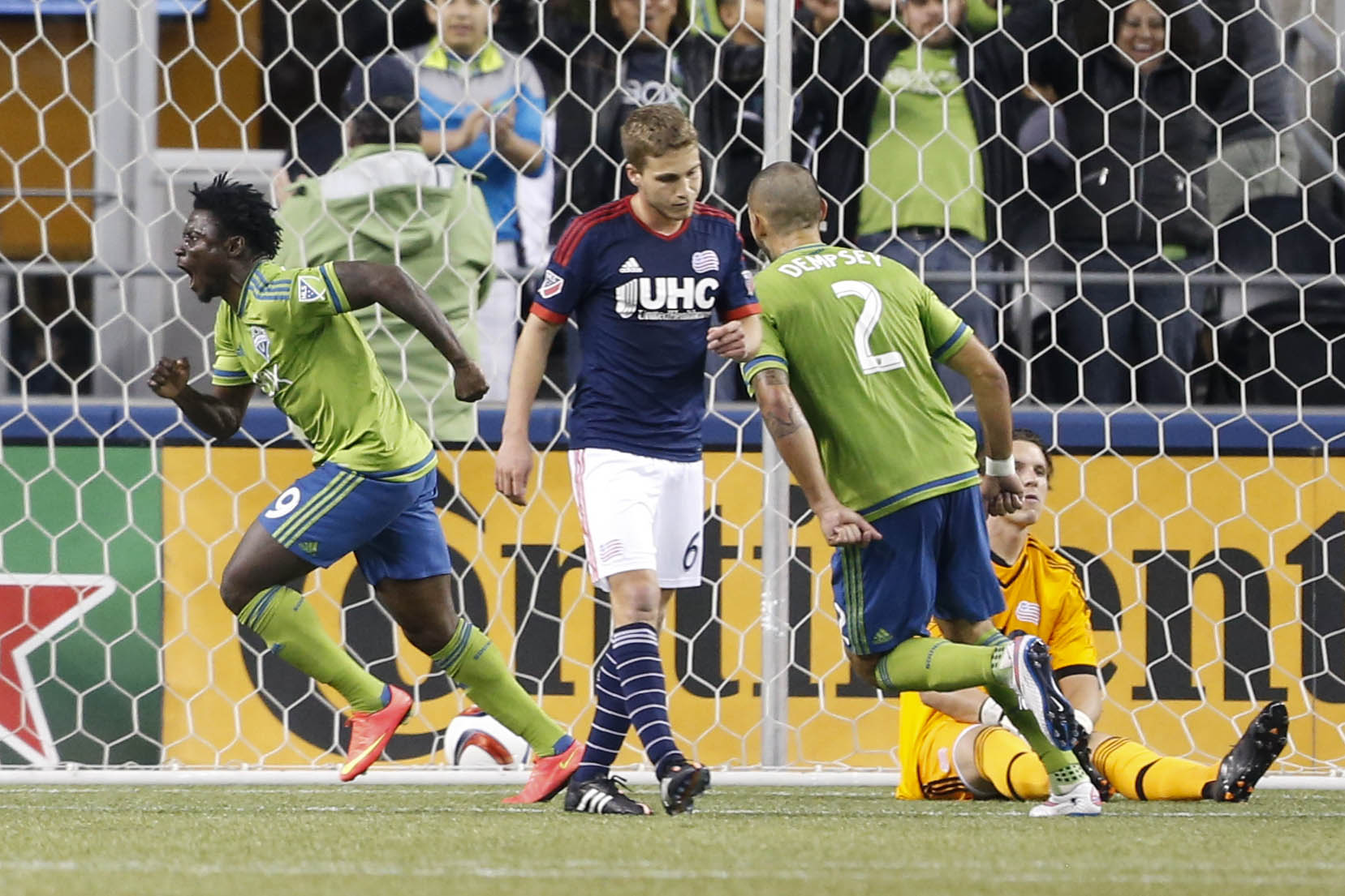 Seattle's Clint Dempsey and forward Obafemi Martins led the charge for the Sounders and MLS Fantasy in round one.