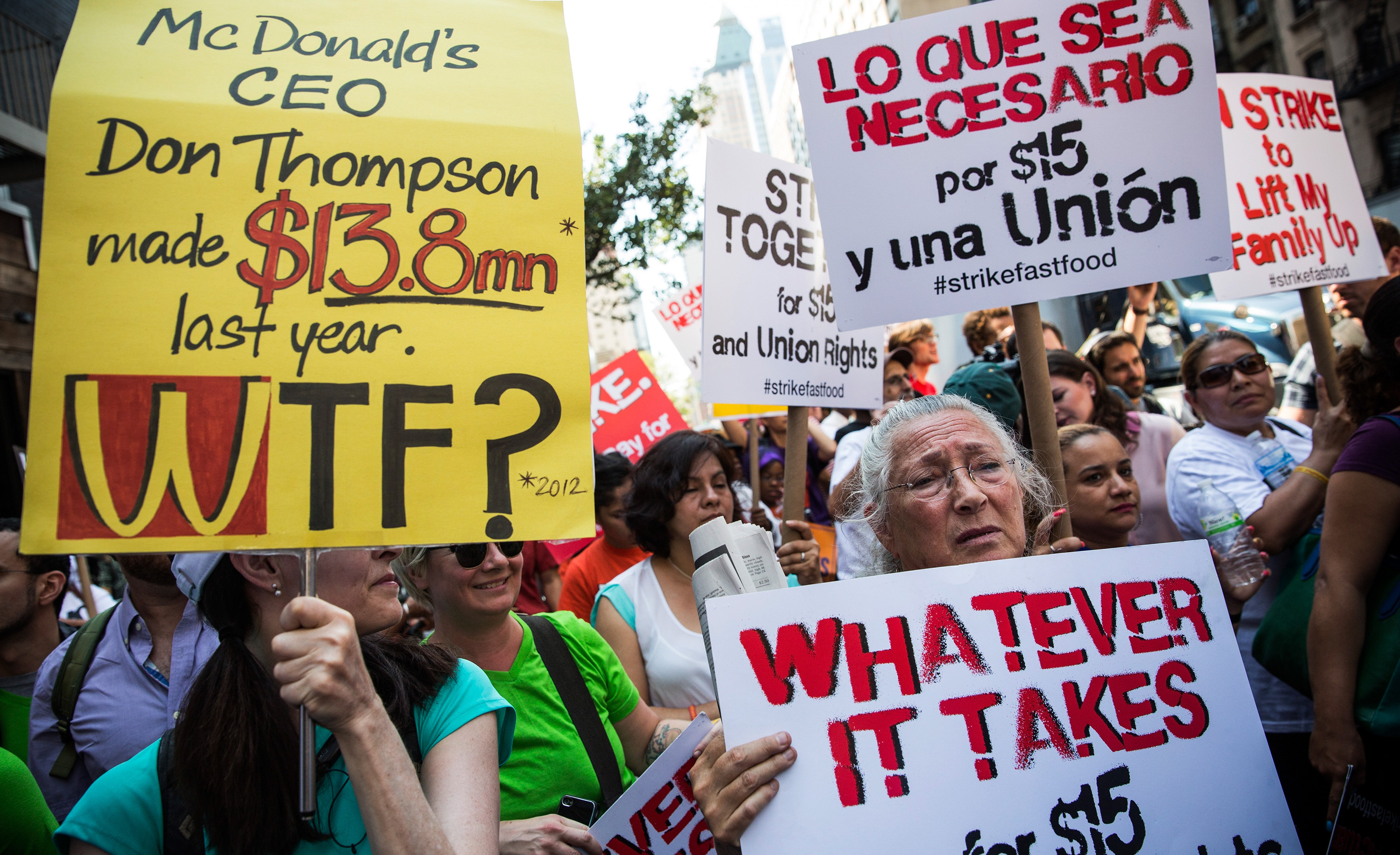 McDonald's Sues City of Seattle to Stop Minimum Wage Increase
