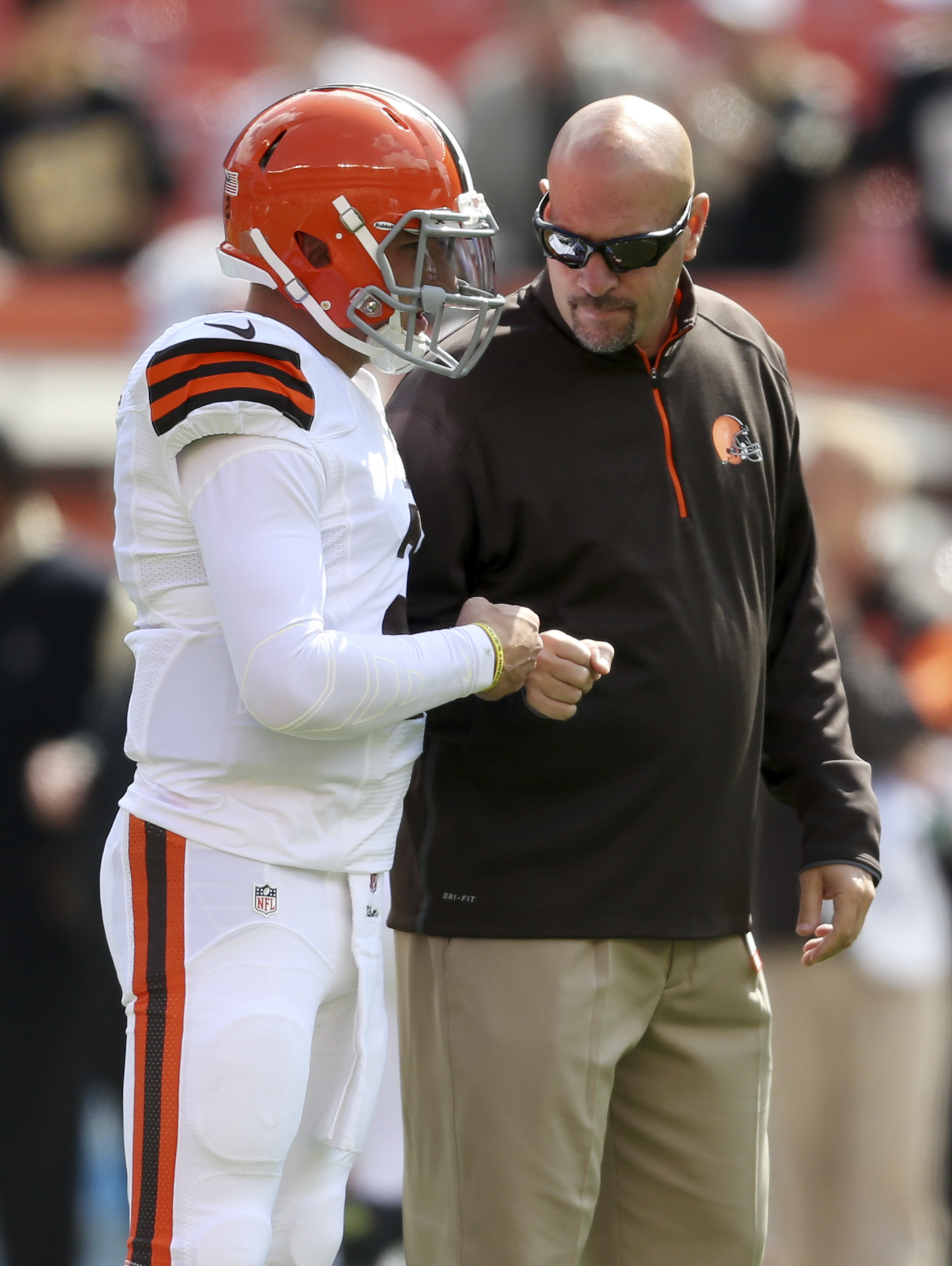 Mike Pettine confident Johnny Manziel will be better in 2015