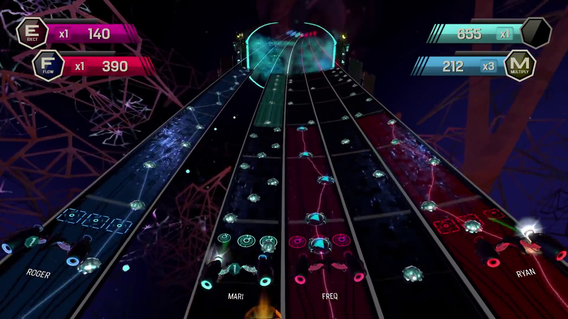 Amplitude's team multiplayer mode could be the life of the party