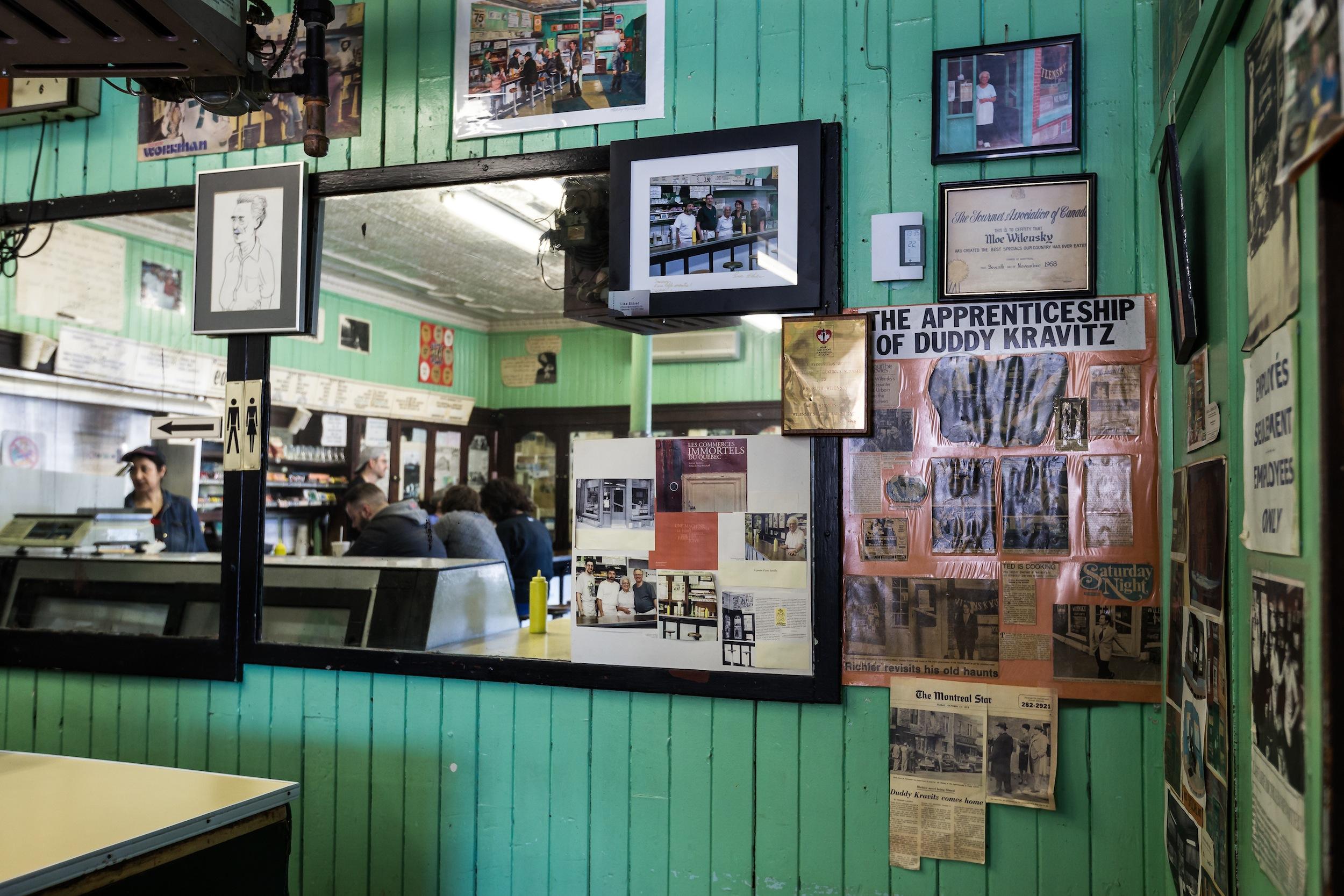 Inside Wilensky's