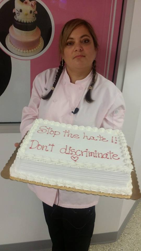 Cake at Azucar Bakery