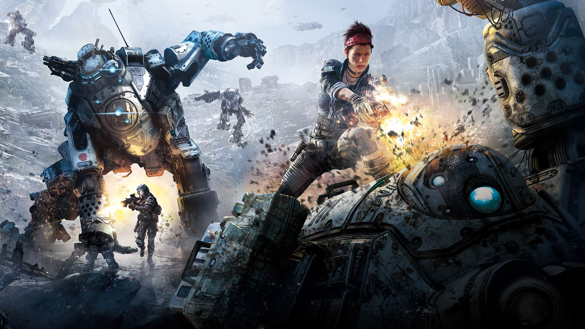 Titanfall's DLC is free right now on Xbox One, Xbox 360 and PC (update)