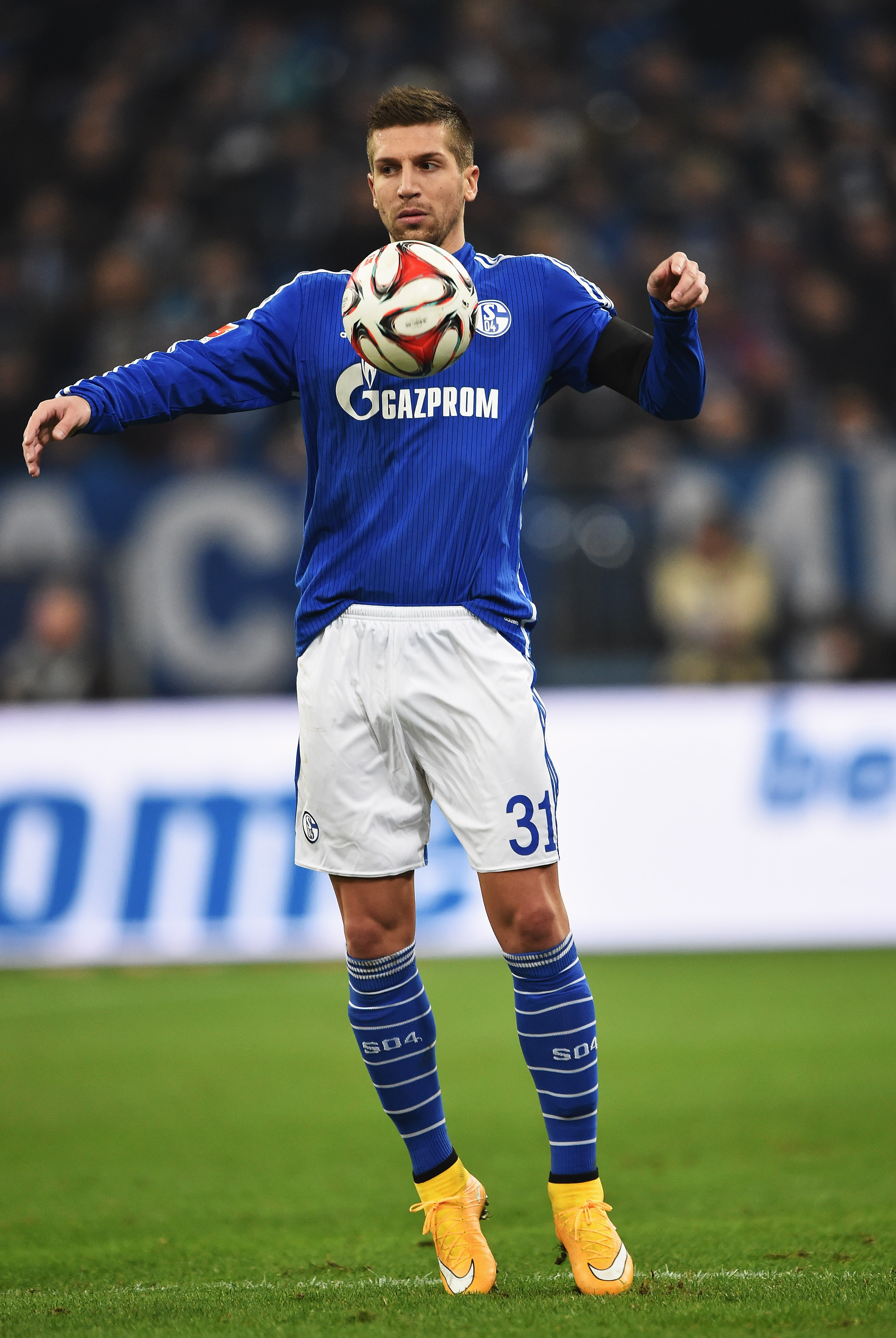Switch confirmed: Matija Nastasic has sealed a move from Manchester City to Schalke.