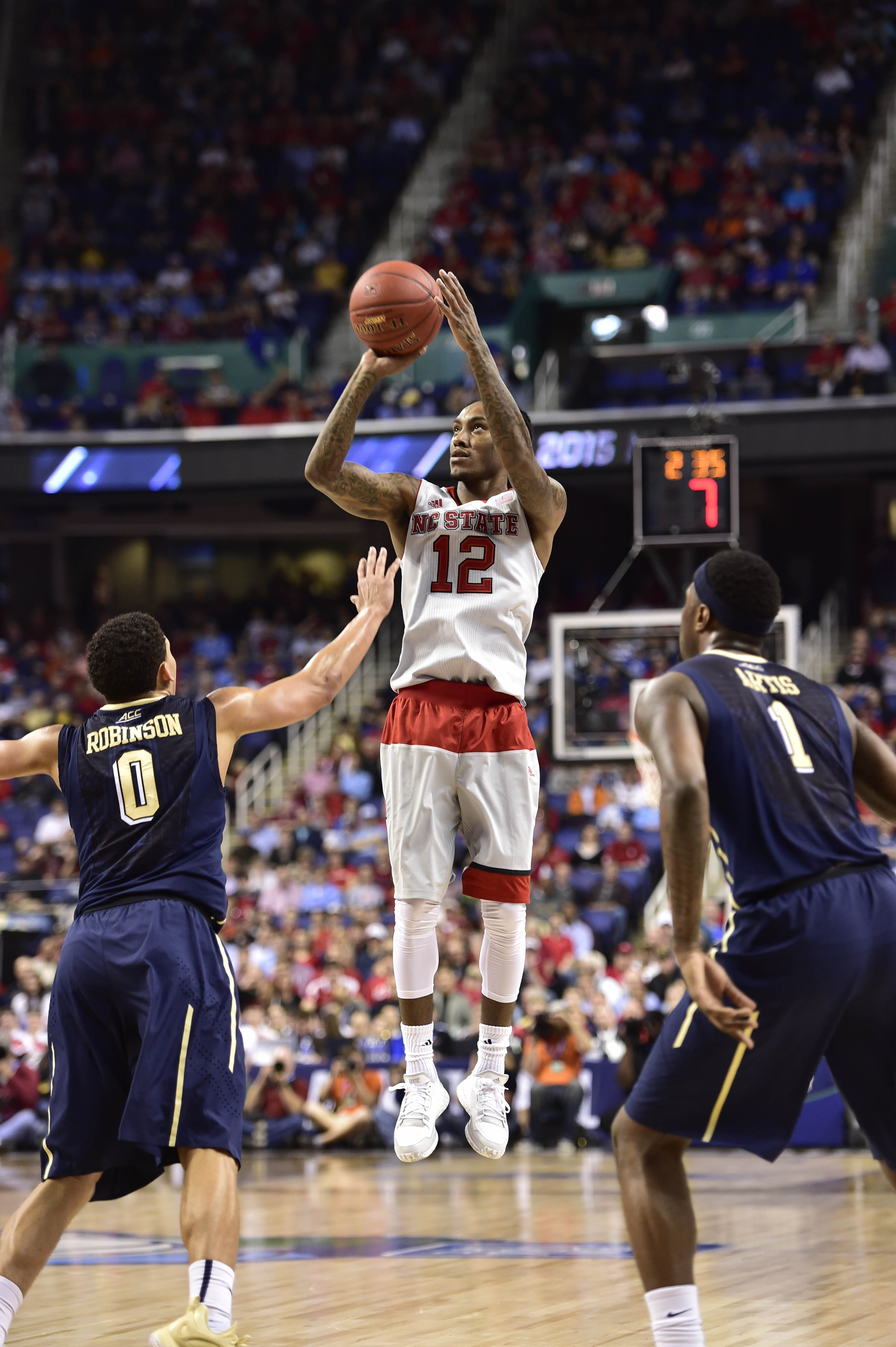 Cat Barber poured in 34 points in a Day 2 win against Pitt in the ACC Tournament