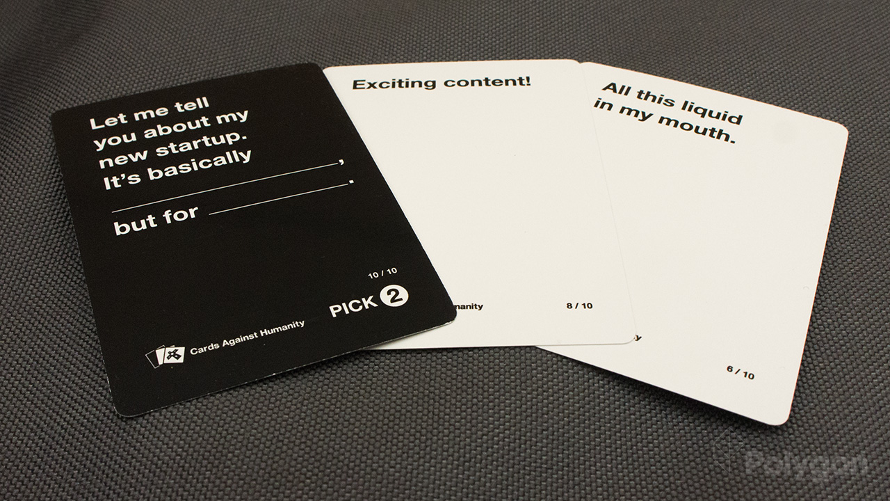 Cards Against Humanity is free online starting this weekend
