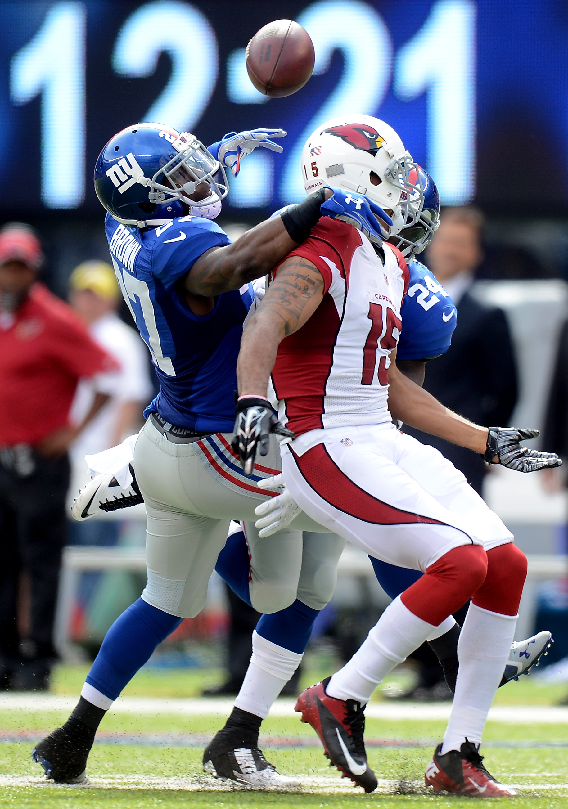 Is Stevie Brown Giants' best option at safety?