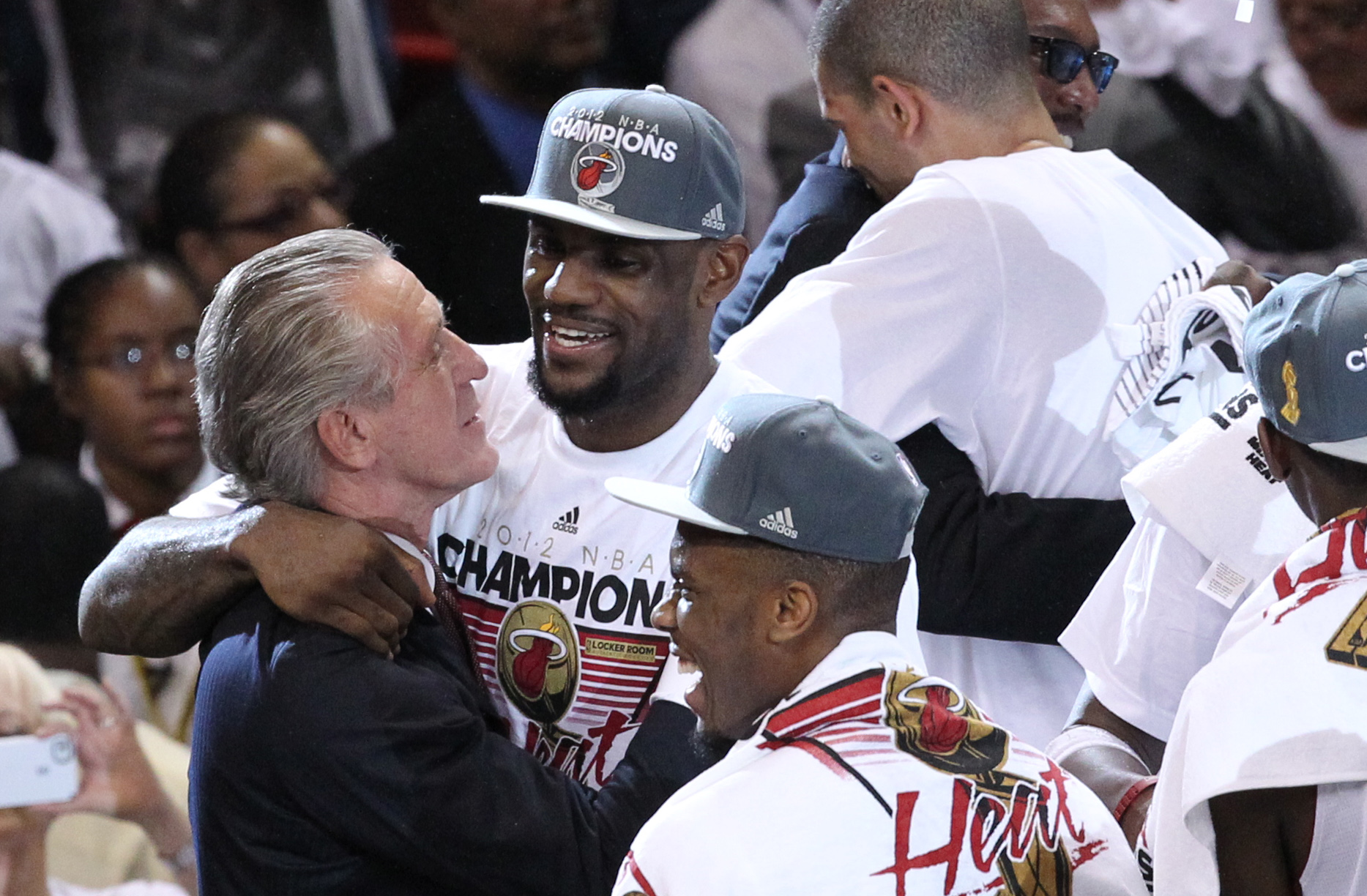 Pat Riley is still not over LeBron James leaving Miami