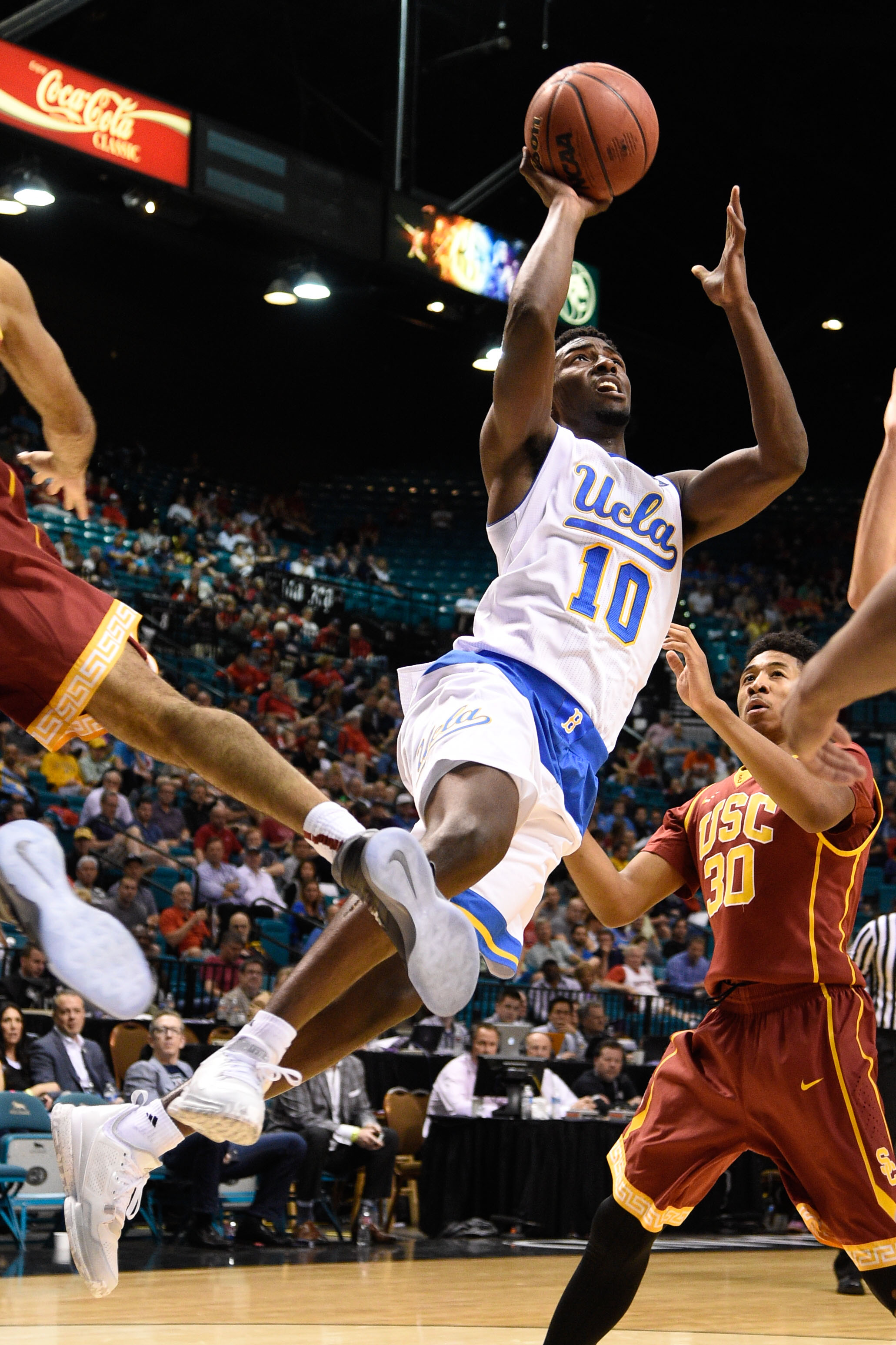Isaac Hamilton led UCLA past Southern Cal in PAC-12 Conference Play