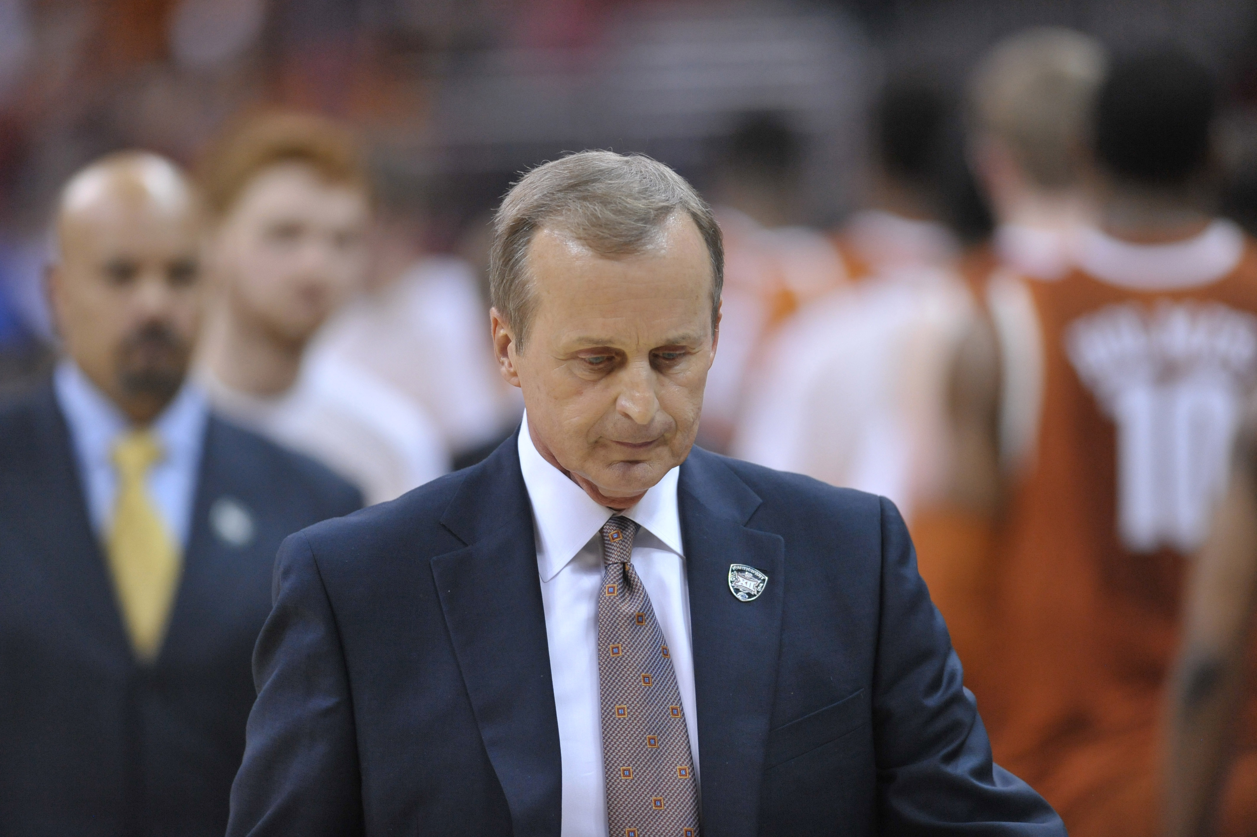 Is Rick Barnes' seat still warm? A close loss to the Cyclones didn't really damage the Longhorns' at-large hopes.