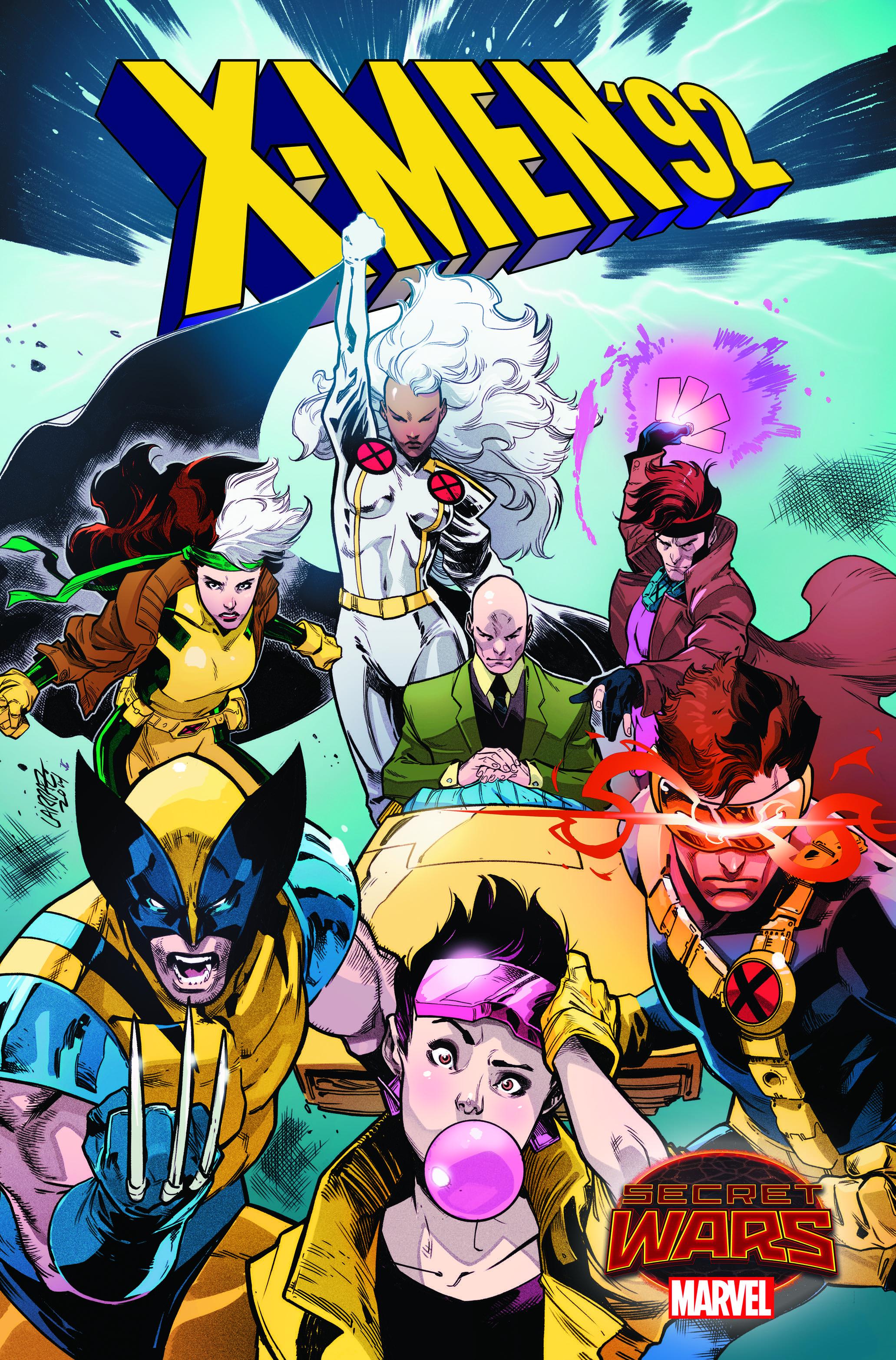 Marvel's X-Men: '92 #1 will bring the '90s cartoon X-Men to modern comics