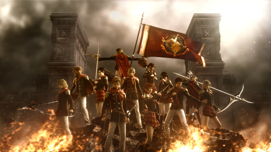 What's the deal with Final Fantasy Type-0's name, anyway?