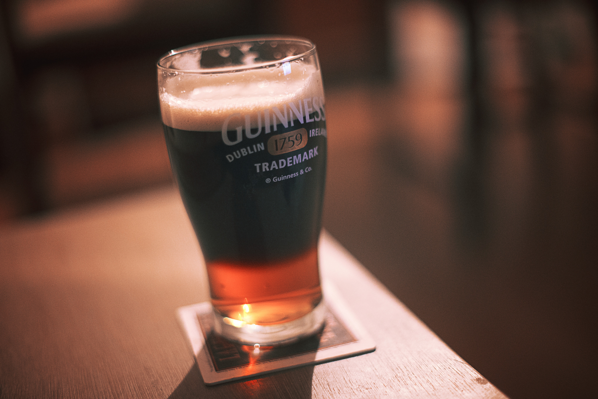 Guinness Black and Tan