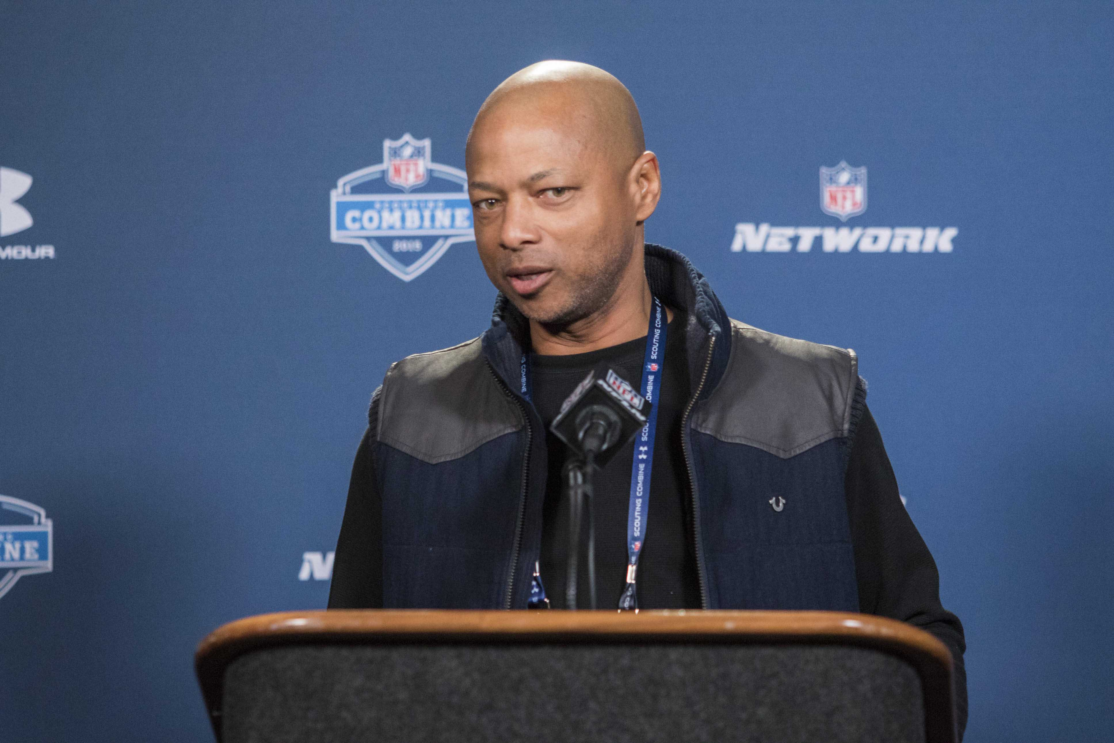 Giants GM Jerry Reese