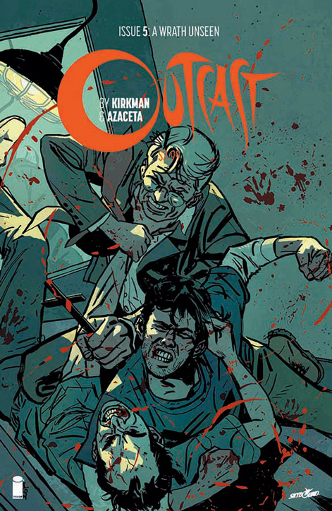 Kirkman discusses horror comic Outcast's transition to TV