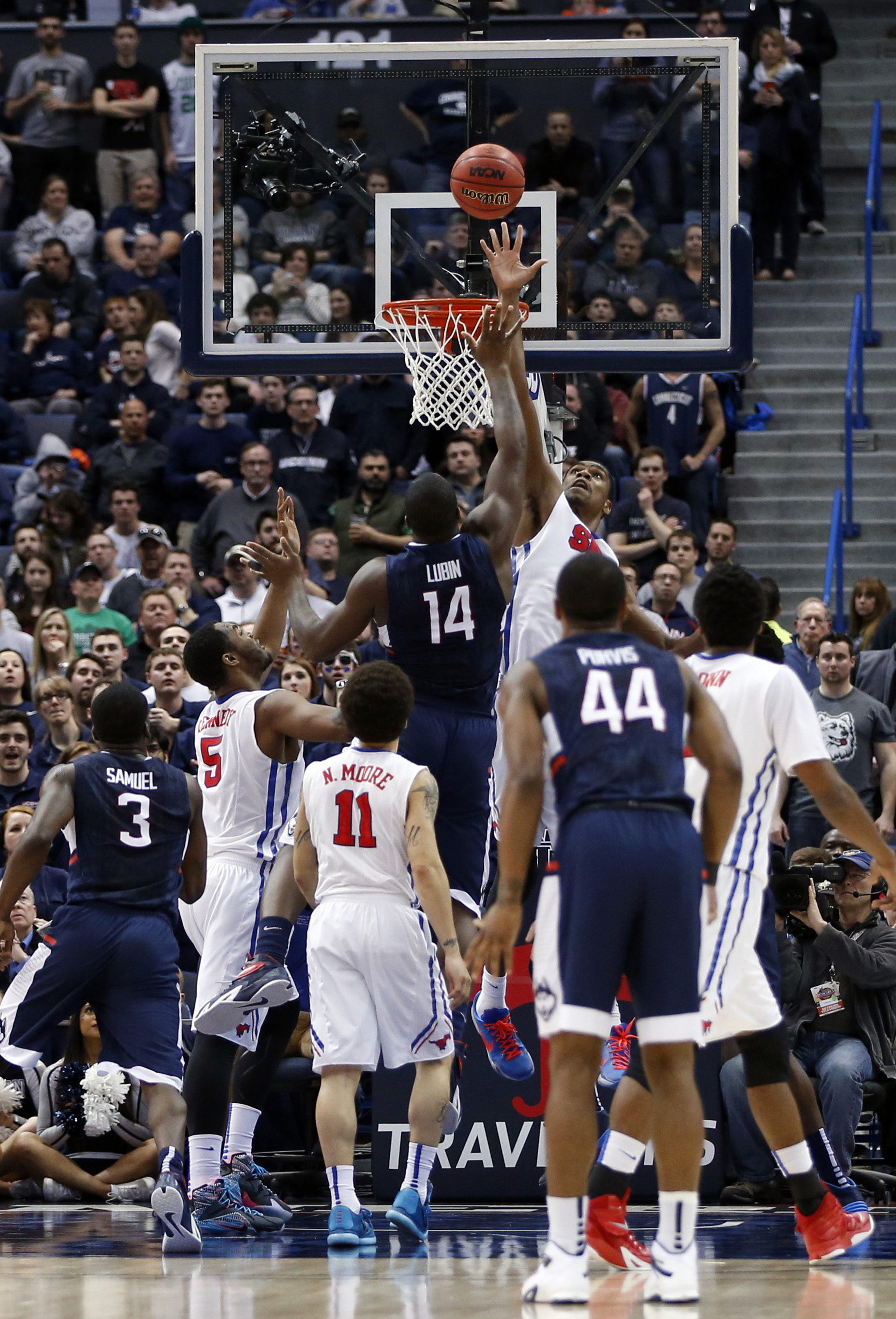SMU saved a bubble team as the regular season came to a conclusion.