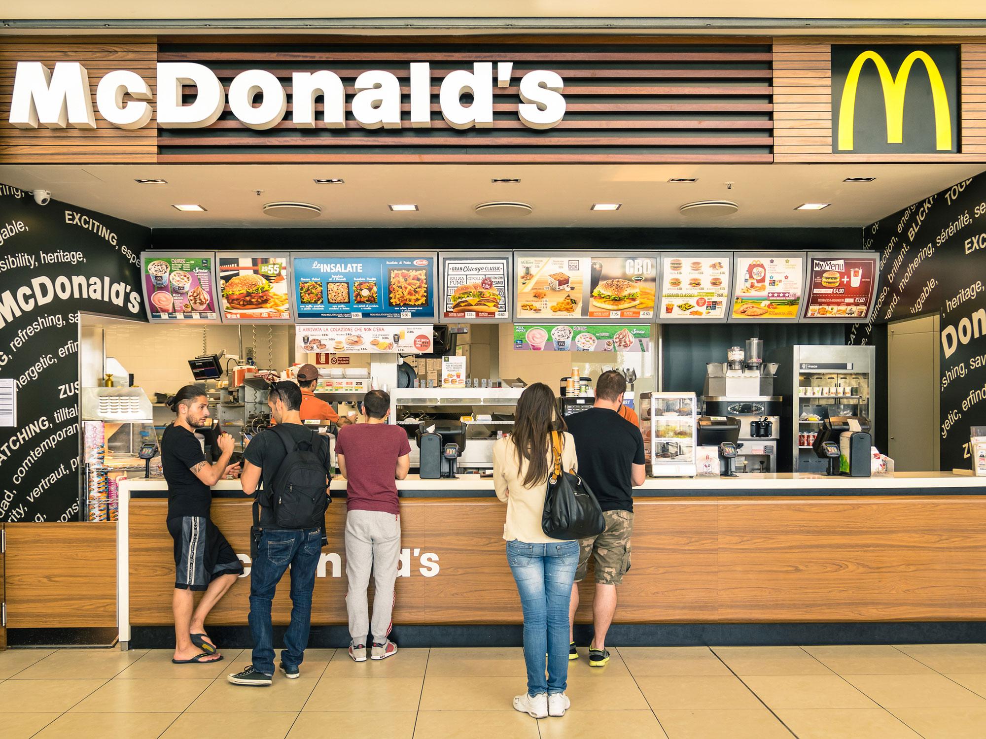 McDonald's Customer Chokes Cashier Over Order Mix-Up