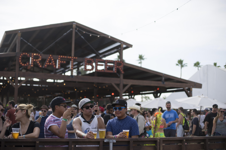 Beer Barn at Coachella, 2014
