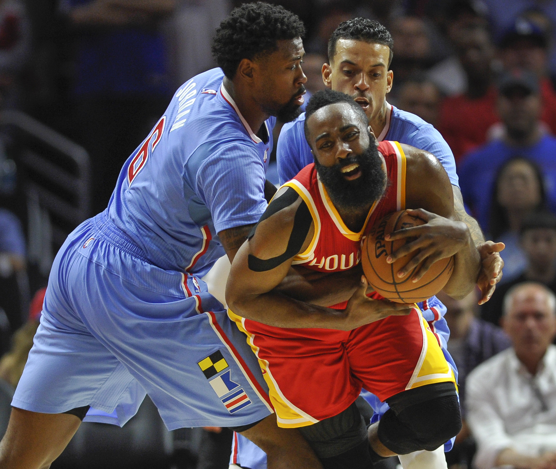 James Harden remains on top in a tight NBA MVP race