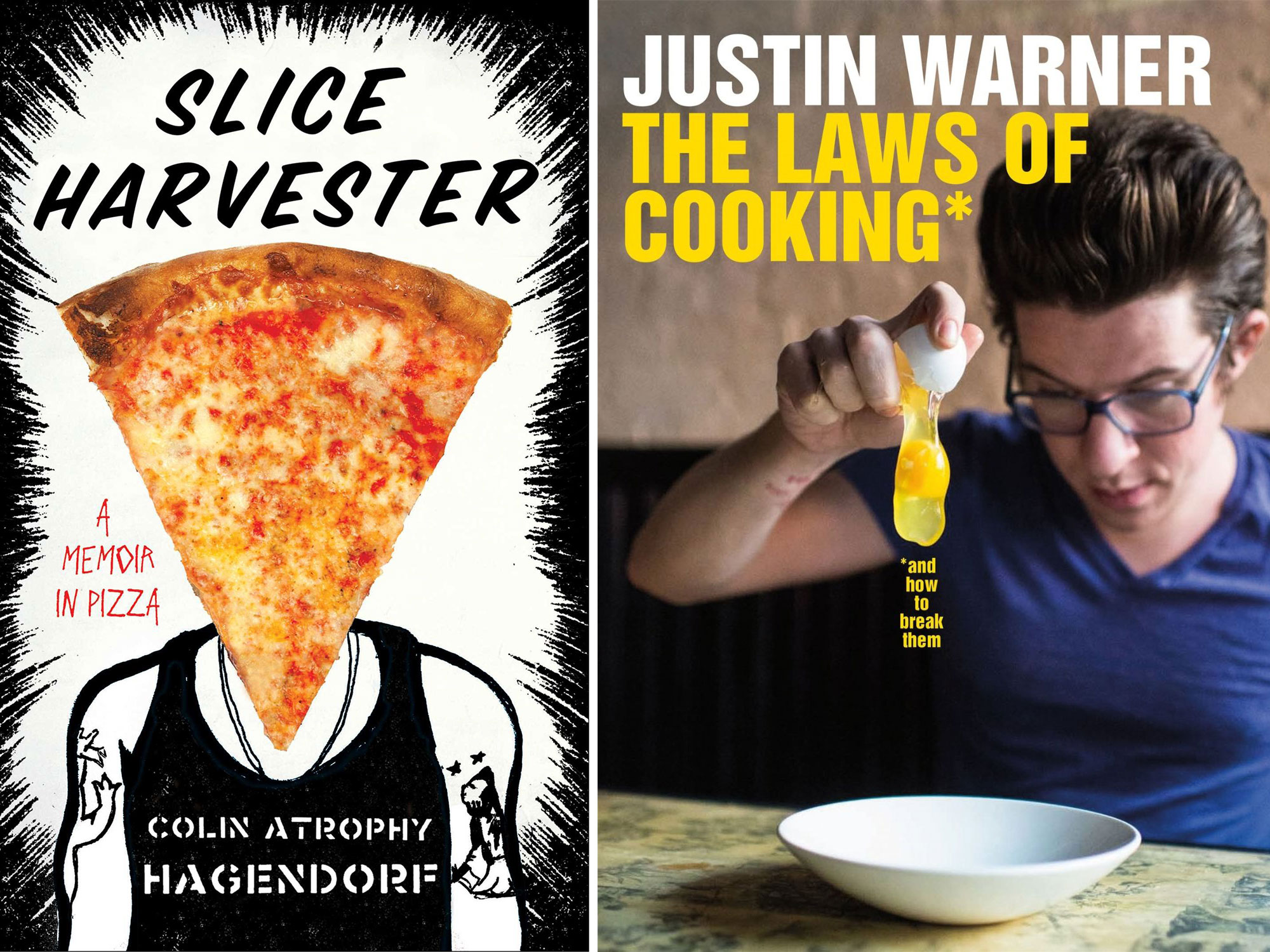 Book Deals: A History of Oysters, a Pizza Memoir, Justin Warner's First Cookbook, and More