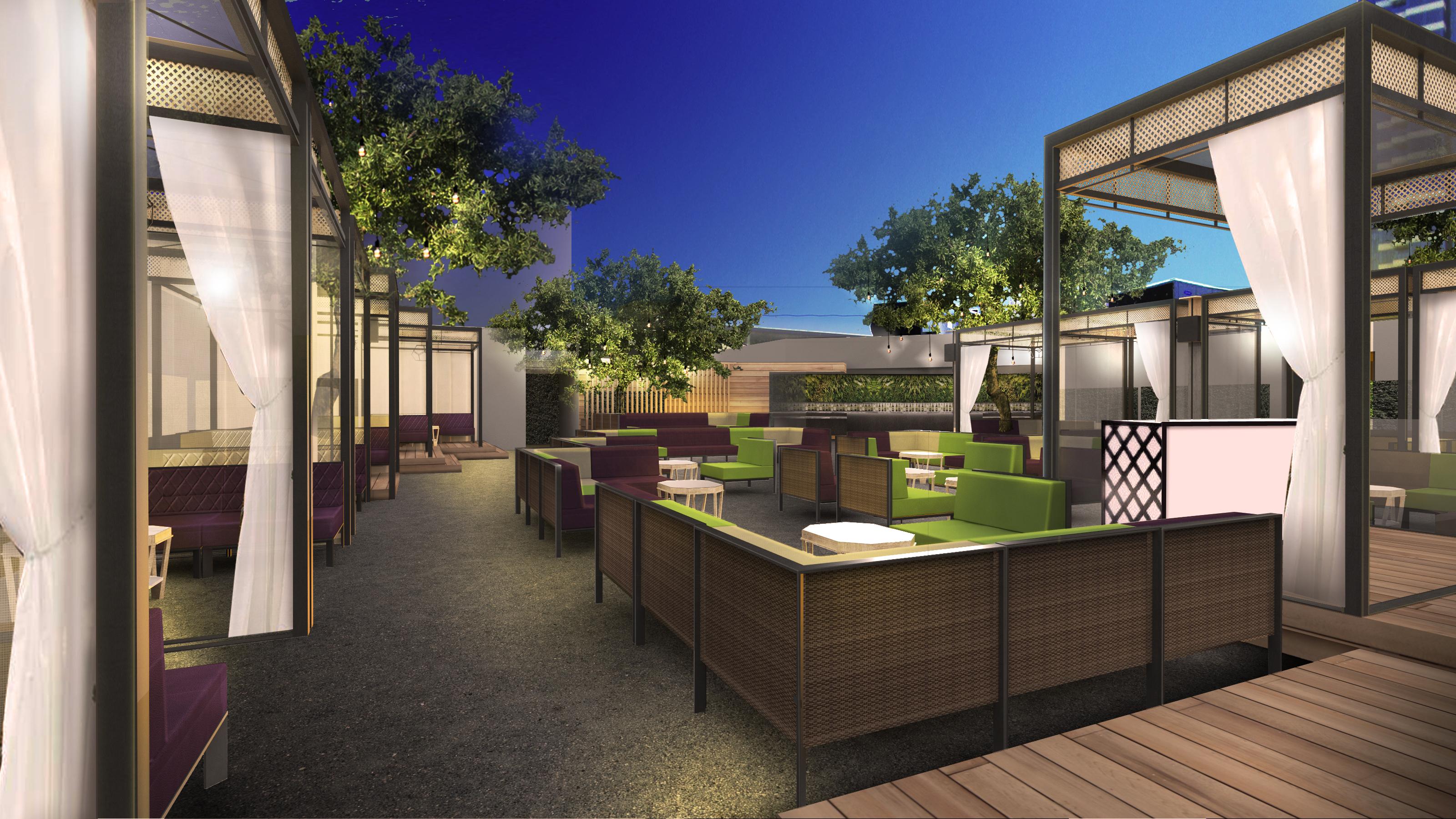 Omnia rooftop rendering