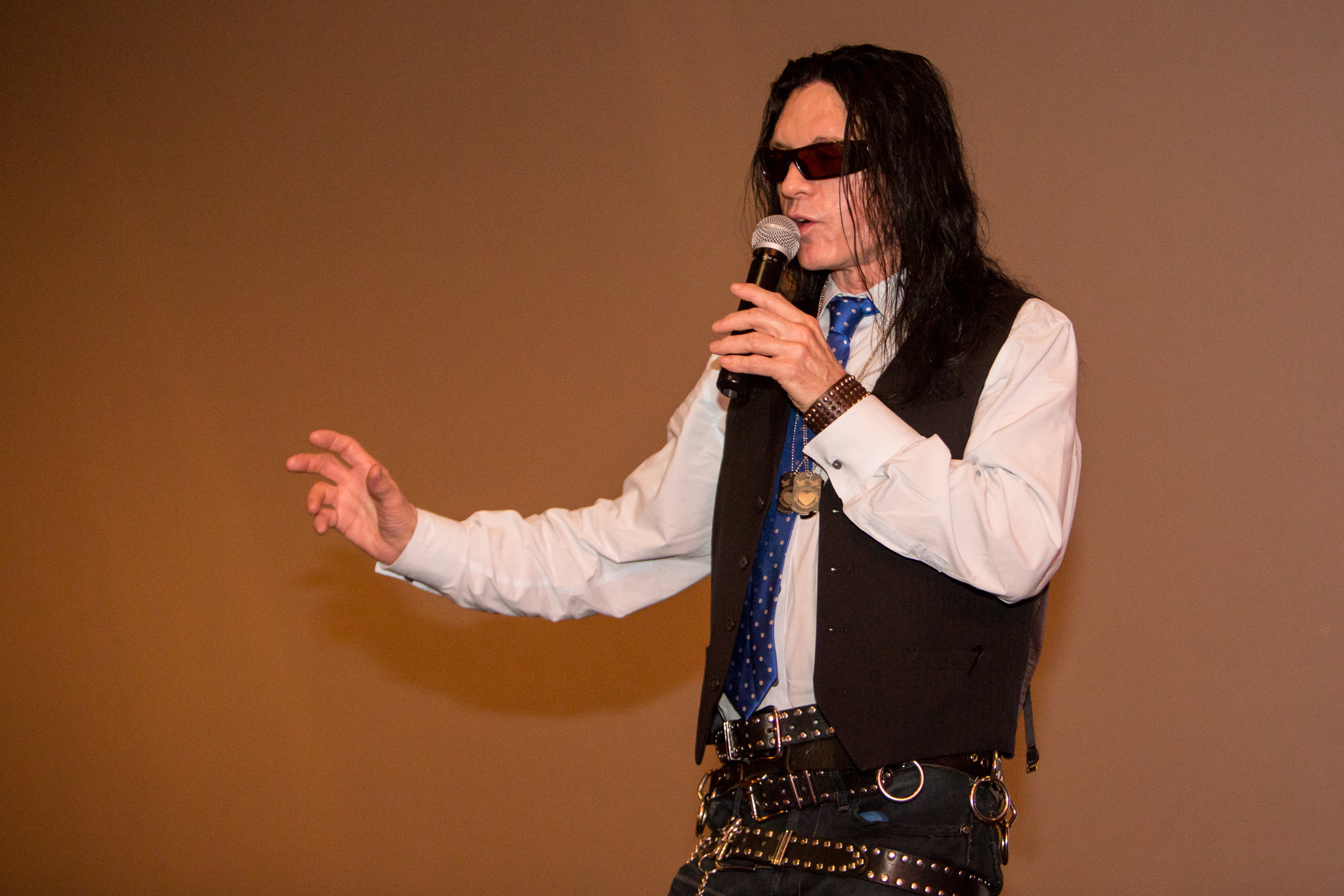 Tommy Wiseau, auteur of the world's worst movie, just did an
