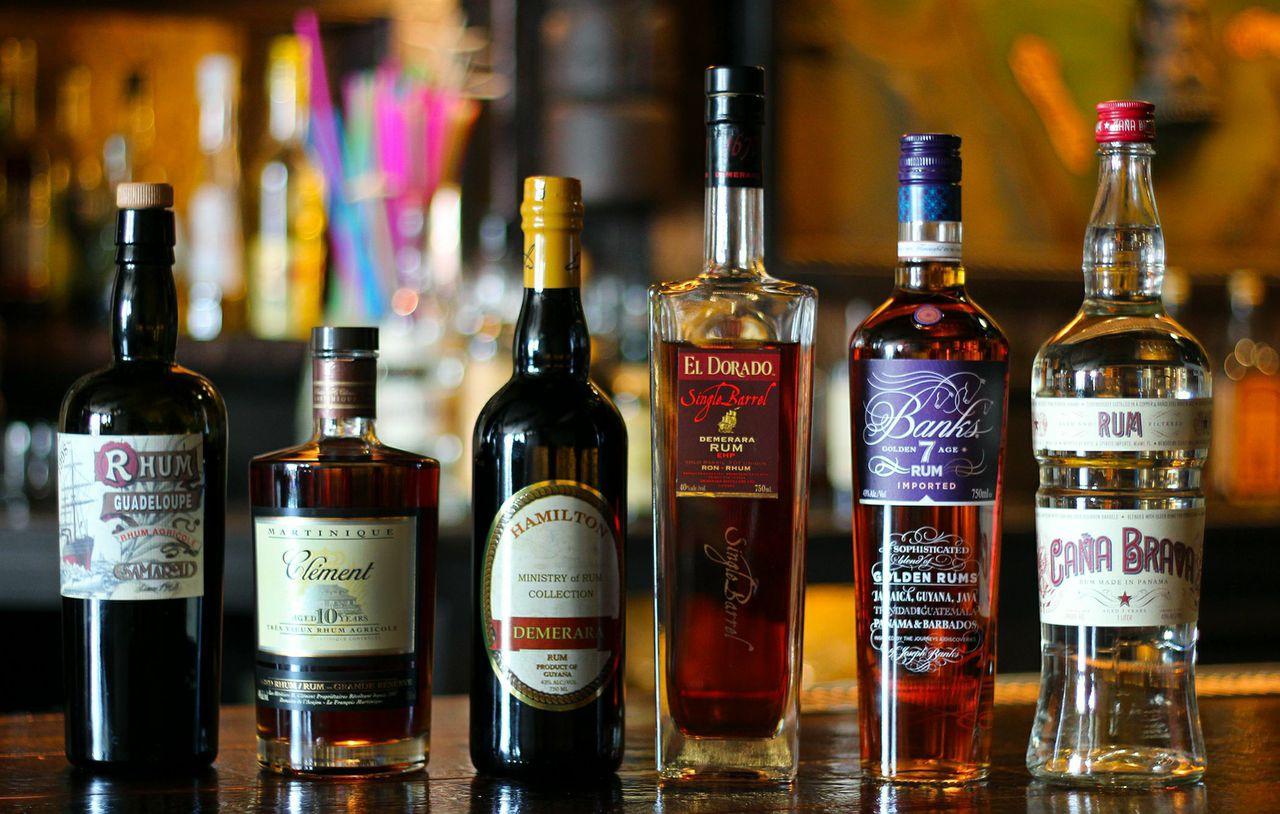 Six essential rums.