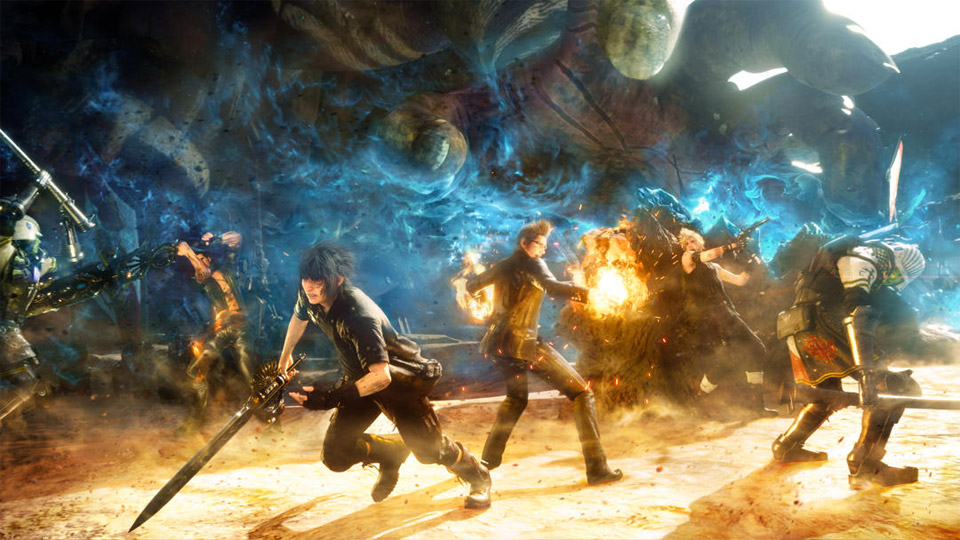 People are paying $30 on eBay to play the Final Fantasy 15 demo